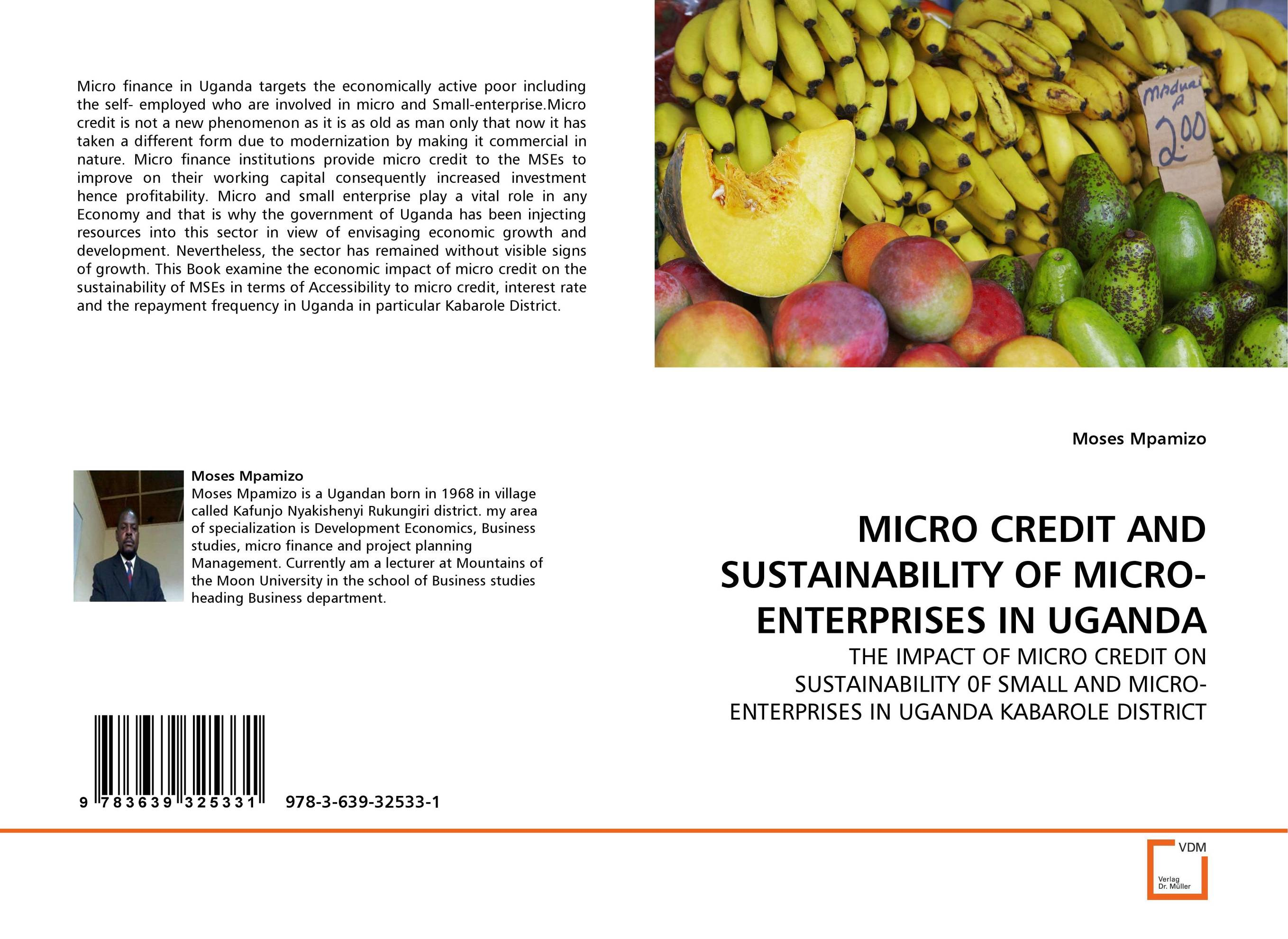 MICRO CREDIT AND SUSTAINABILITY OF MICRO-ENTERPRISES IN UGANDA jaynal ud din ahmed and mohd abdul rashid institutional finance for micro and small entreprises in india