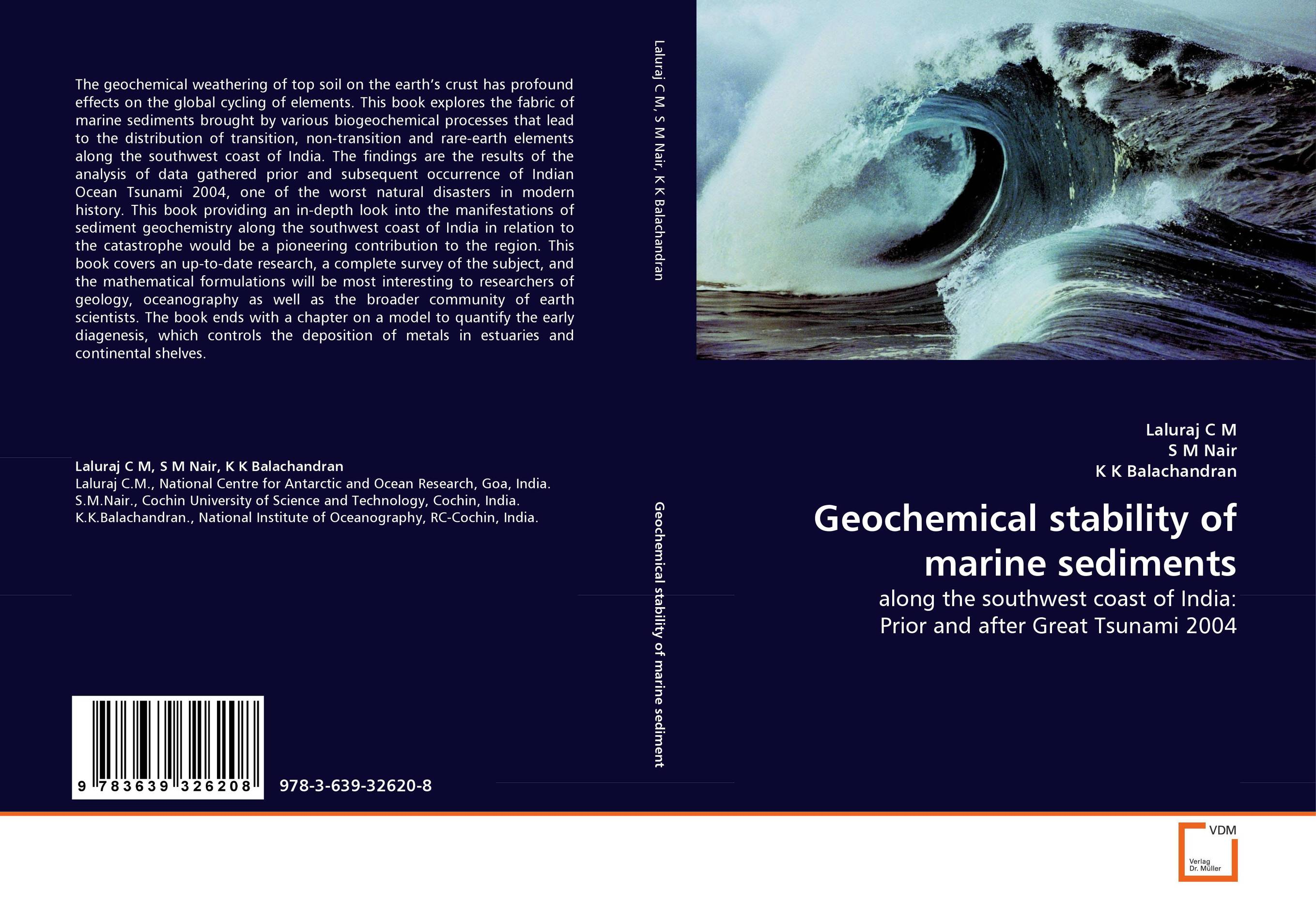 Geochemical stability of marine sediments david atwood a the rare earth elements fundamentals and applications
