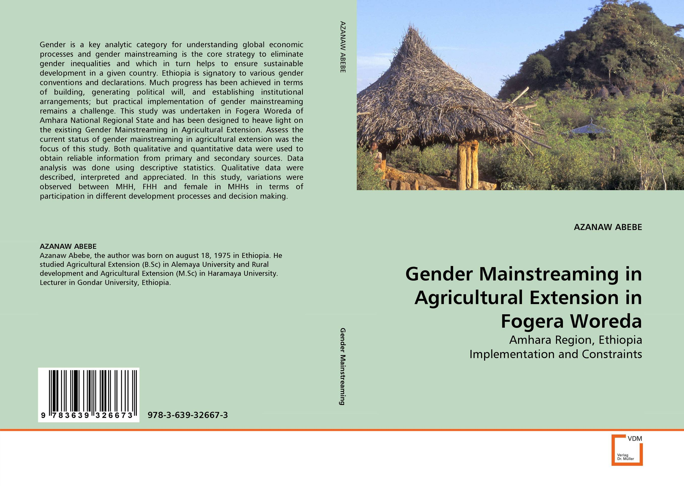 Gender Mainstreaming in Agricultural Extension in Fogera Woreda