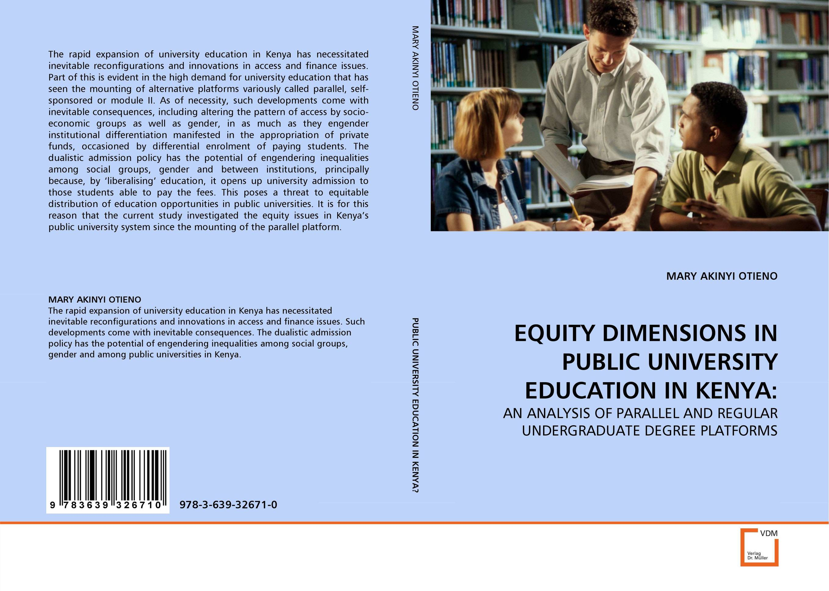 EQUITY DIMENSIONS IN PUBLIC UNIVERSITY EDUCATION IN KENYA: peace education at the national university of rwanda