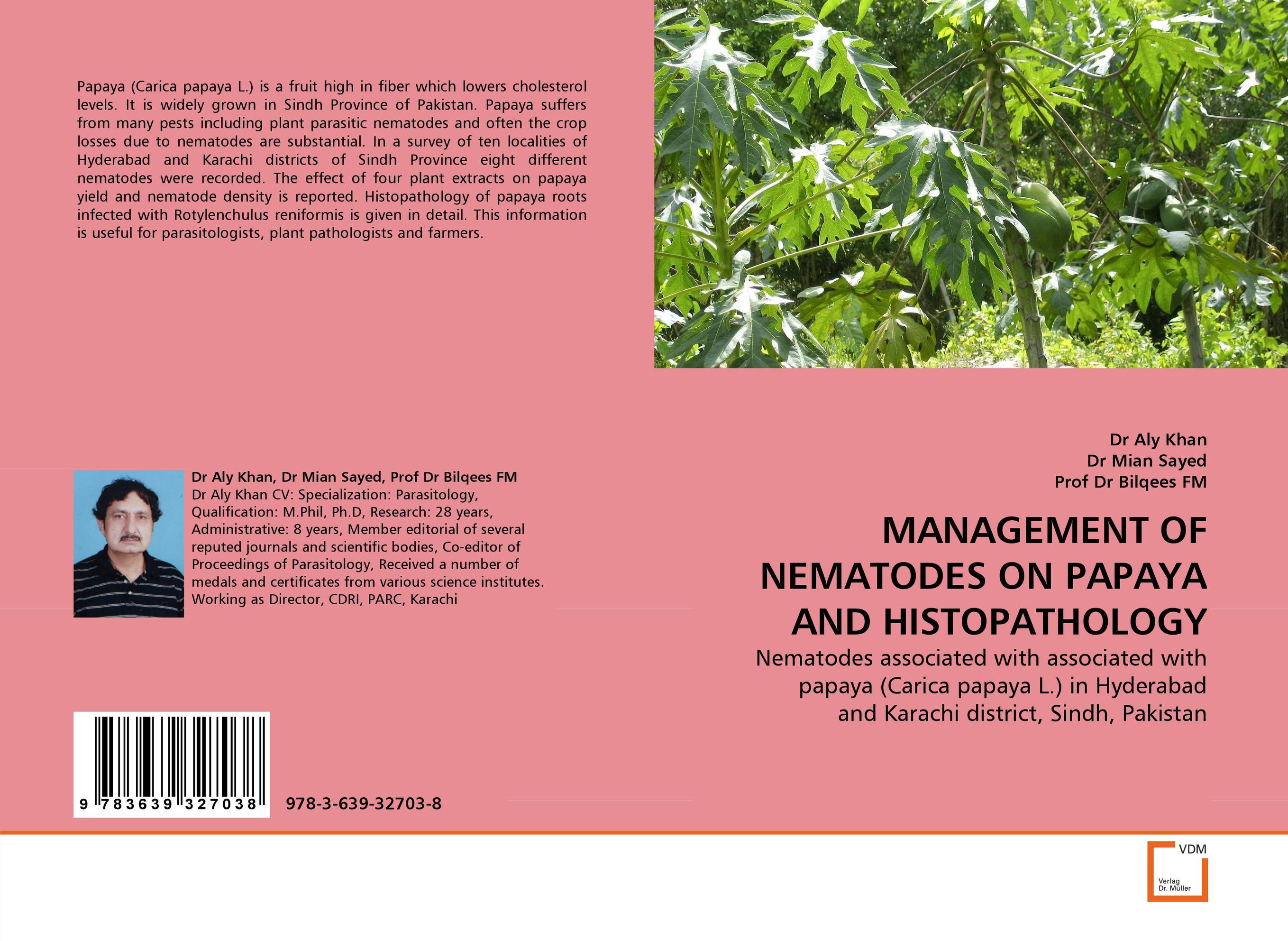 MANAGEMENT OF NEMATODES ON PAPAYA AND HISTOPATHOLOGY nematodes of vegetable crops their control using plant extracts