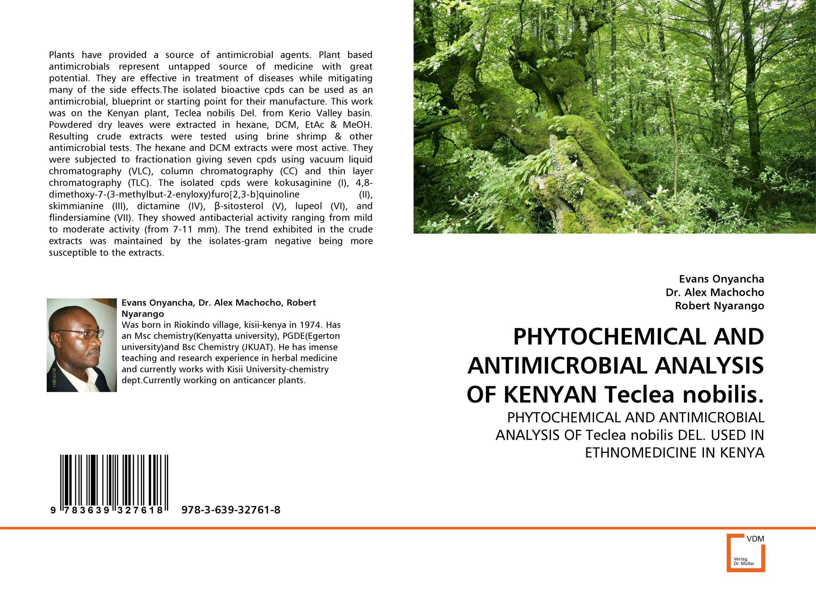 PHYTOCHEMICAL AND ANTIMICROBIAL ANALYSIS OF KENYAN Teclea nobilis. md rabiul islam s m ibrahim sumon and farhana lipi phytochemical evaluation of leaves of cymbopogan citratus