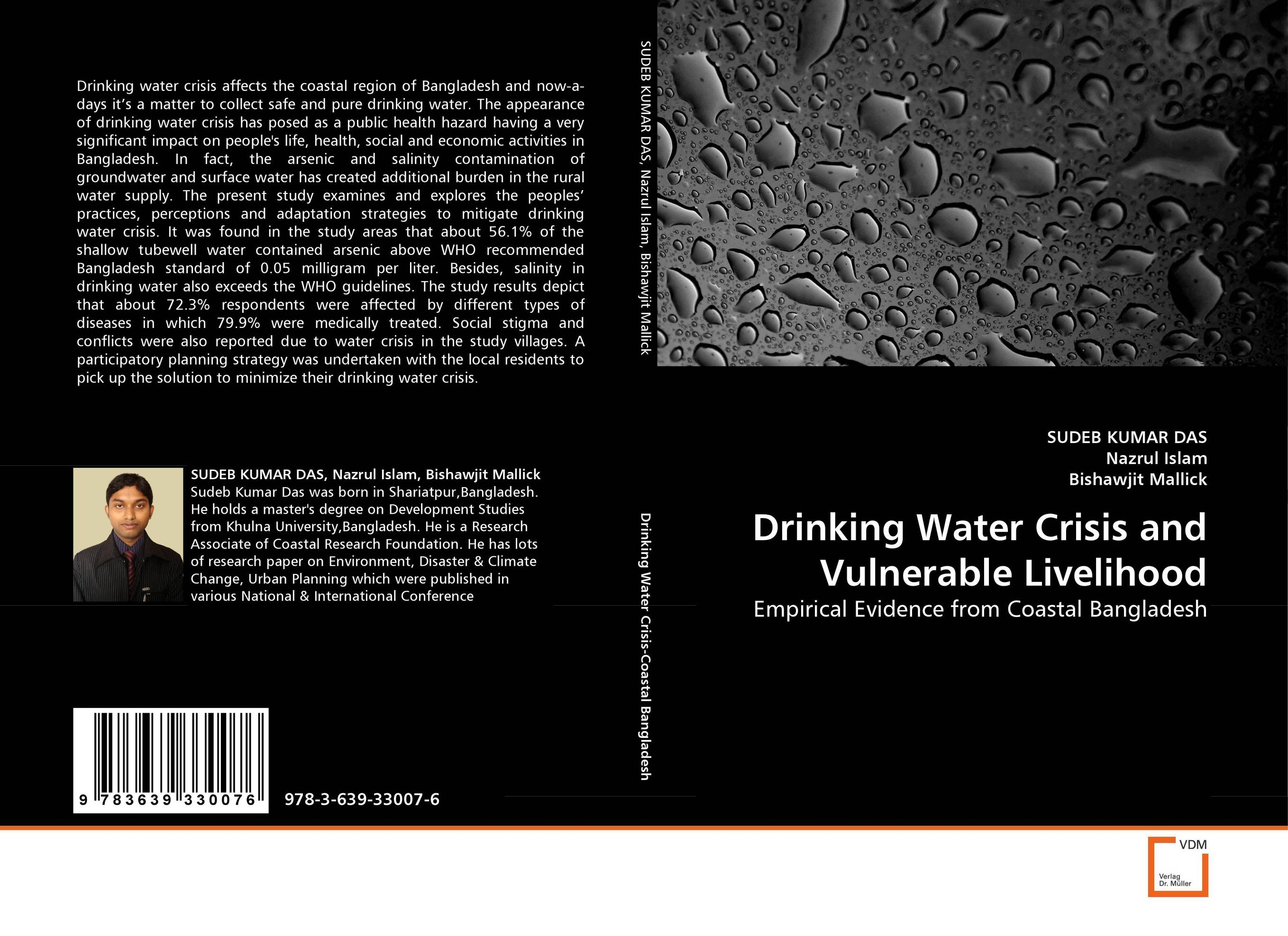 Drinking Water Crisis and Vulnerable Livelihood health risk evaluation of uniport drinking water framework nigeria