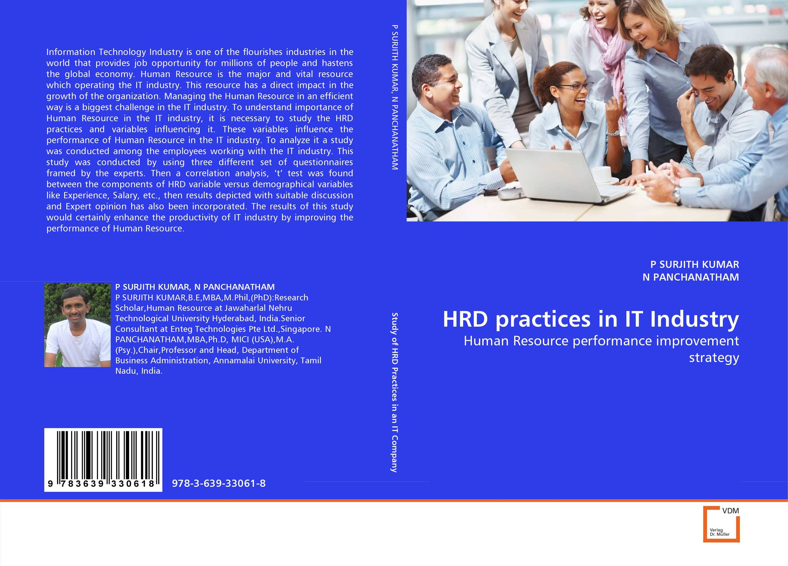 HRD practices in IT Industry managing the store