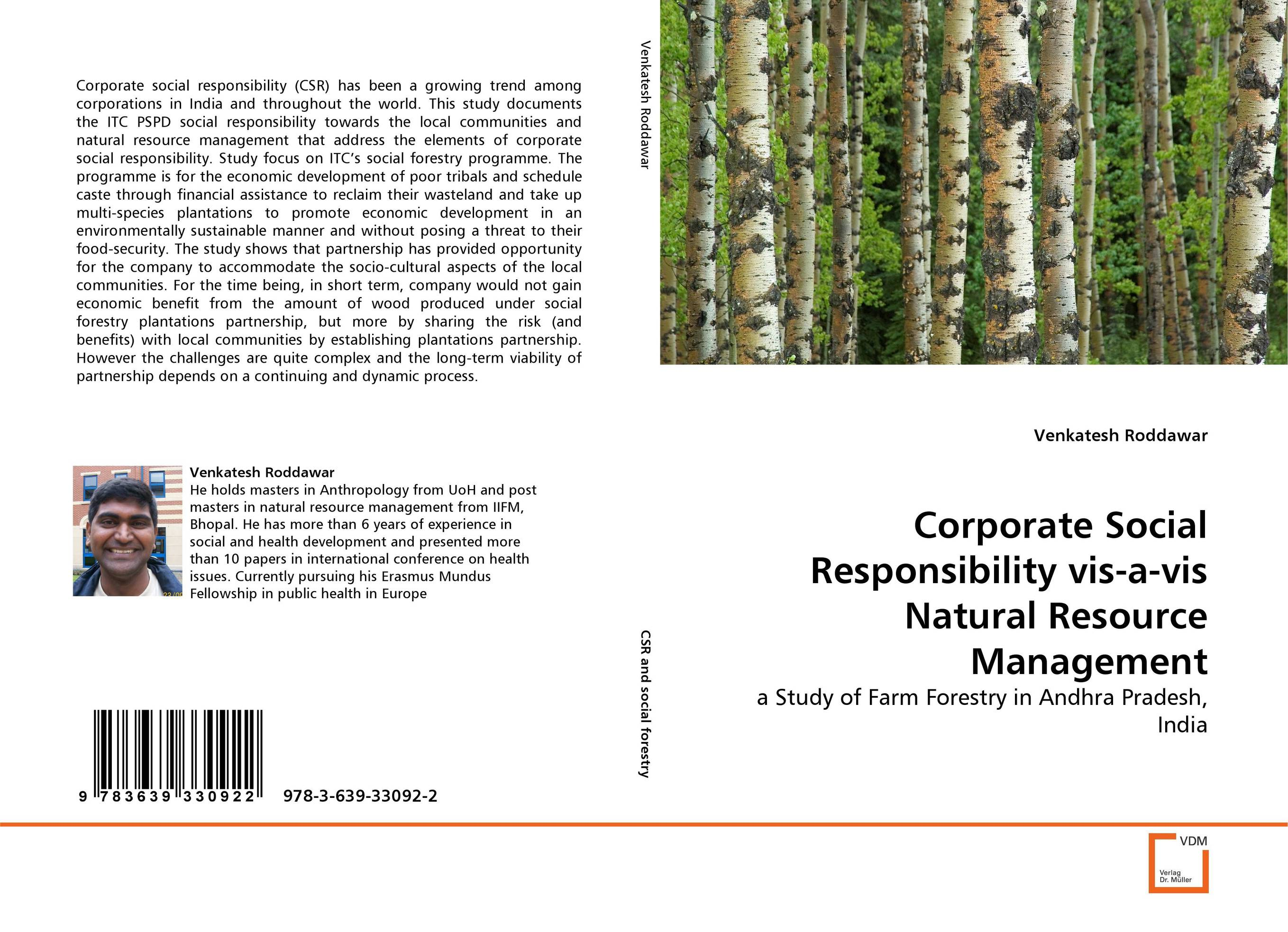 Corporate Social Responsibility vis-a-vis Natural Resource Management srichander ramaswamy managing credit risk in corporate bond portfolios a practitioner s guide