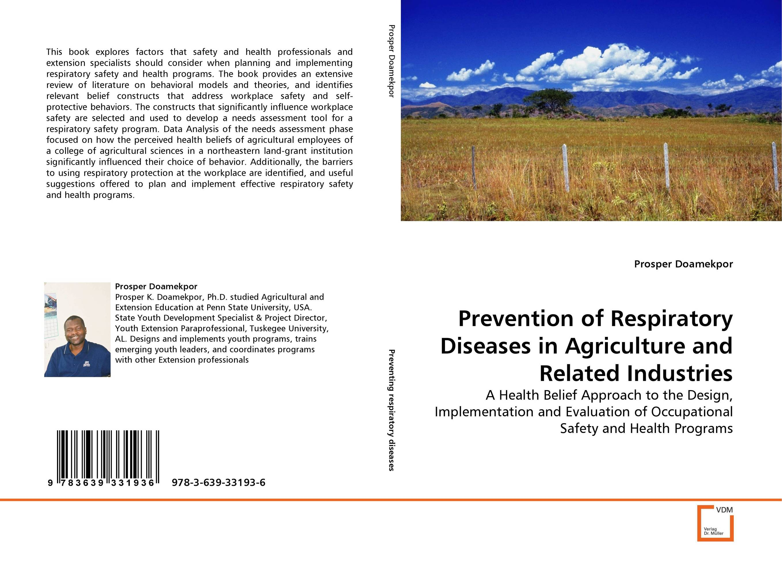 Prevention of Respiratory Diseases in Agriculture and Related Industries o fredholm loss prevention and safety promotion in the process industries