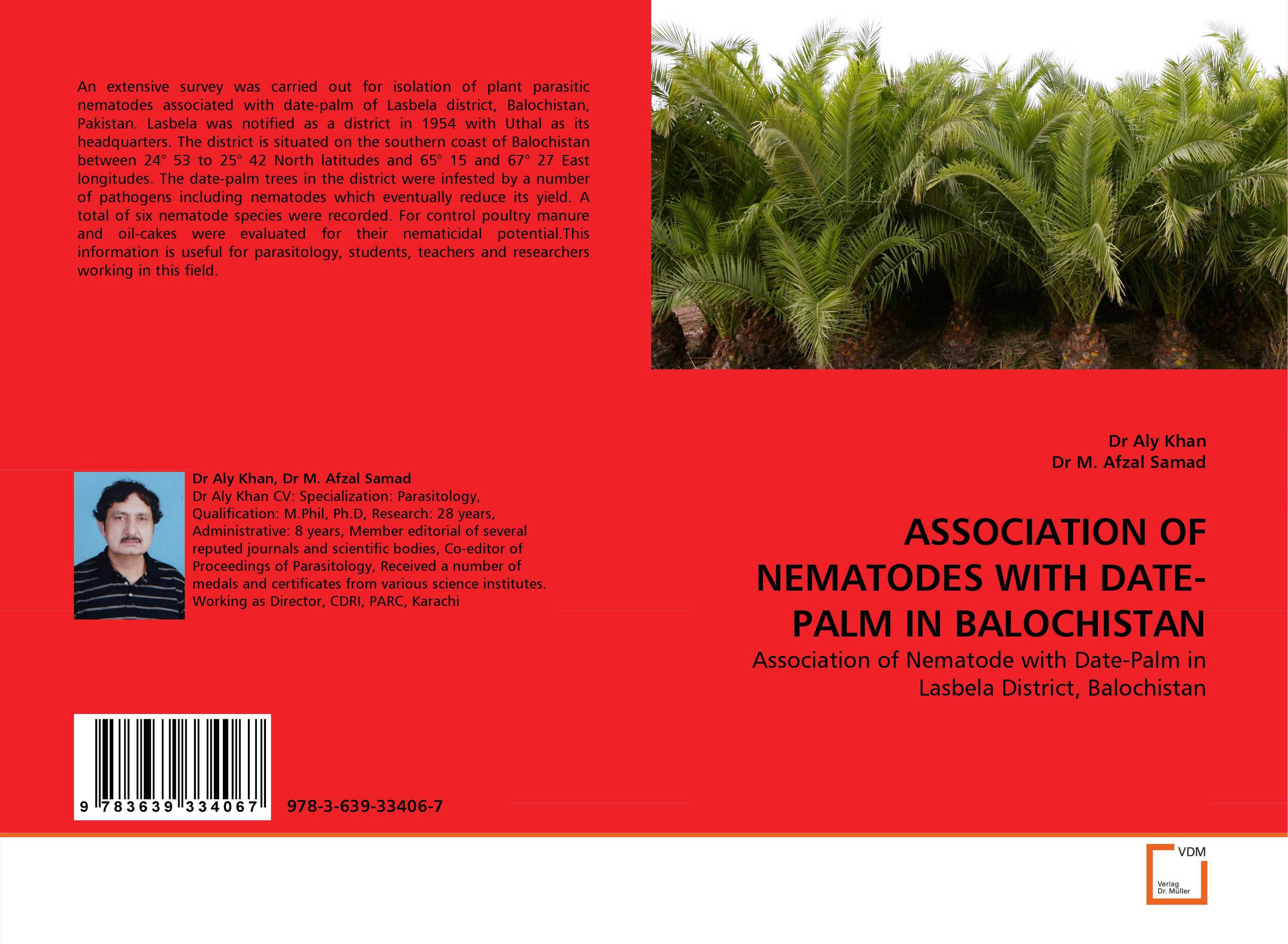 ASSOCIATION OF NEMATODES WITH DATE-PALM IN BALOCHISTAN nematodes associated with maize and their control