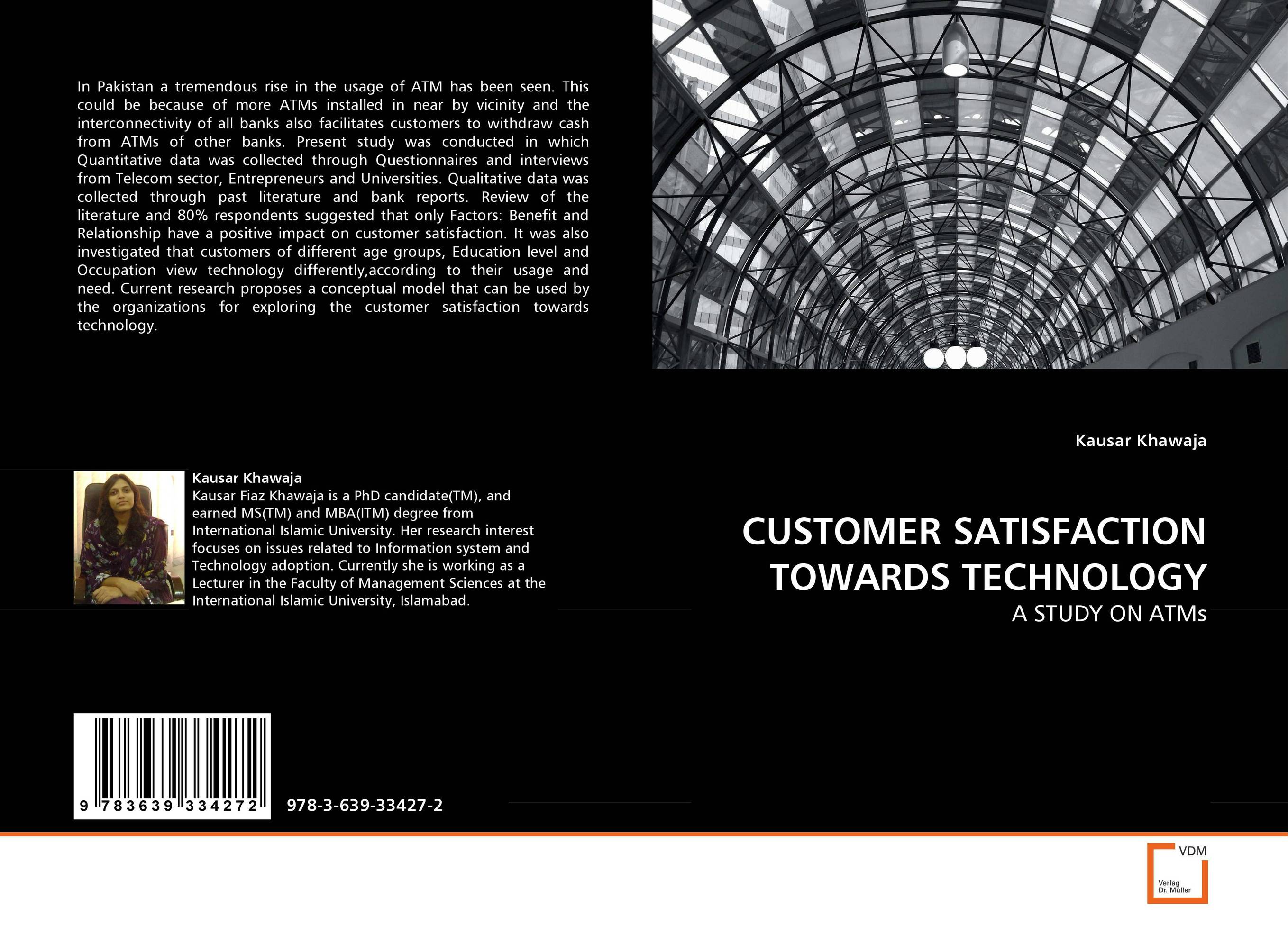 CUSTOMER SATISFACTION TOWARDS TECHNOLOGY