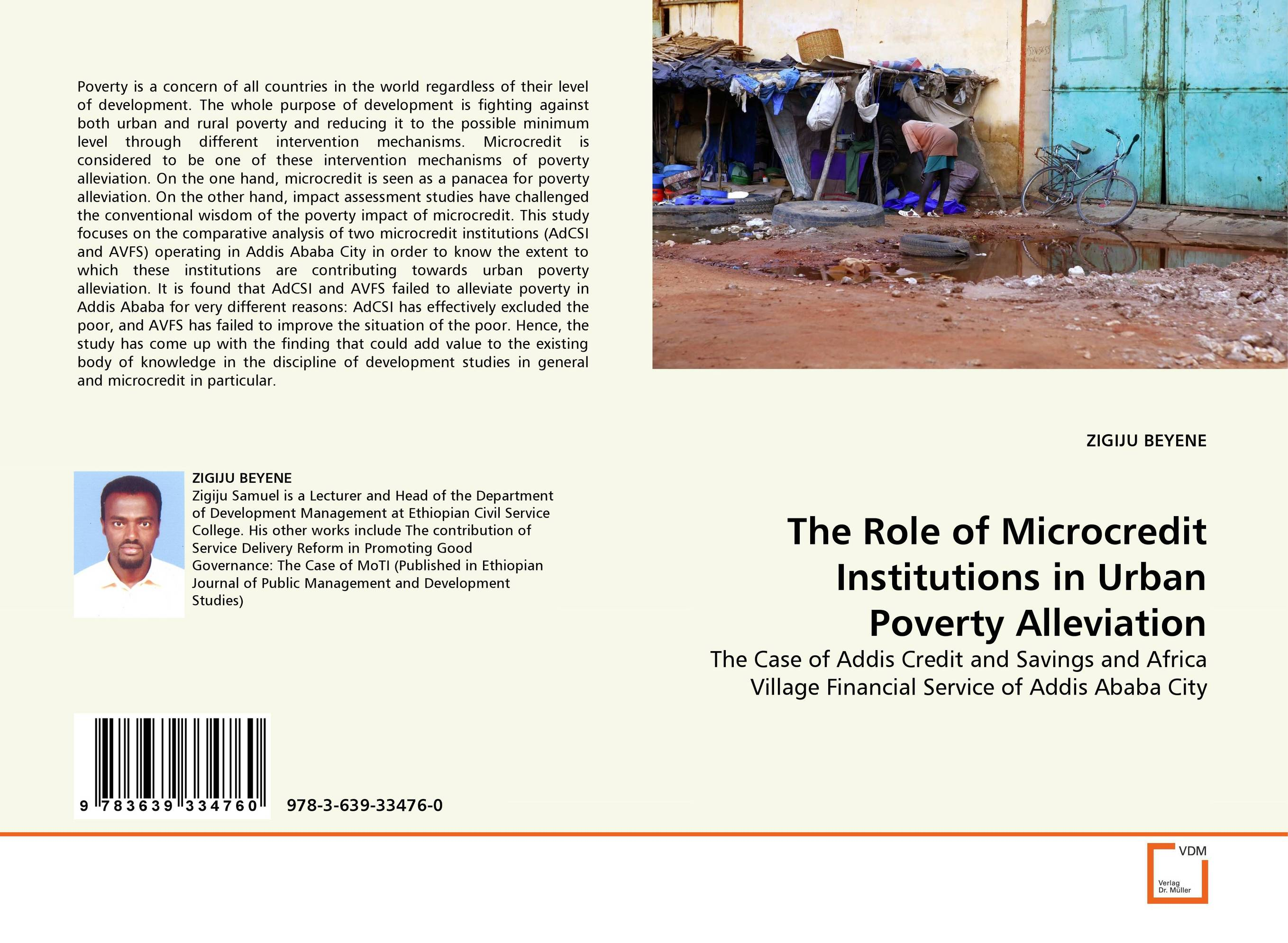 The Role of Microcredit Institutions in Urban Poverty Alleviation