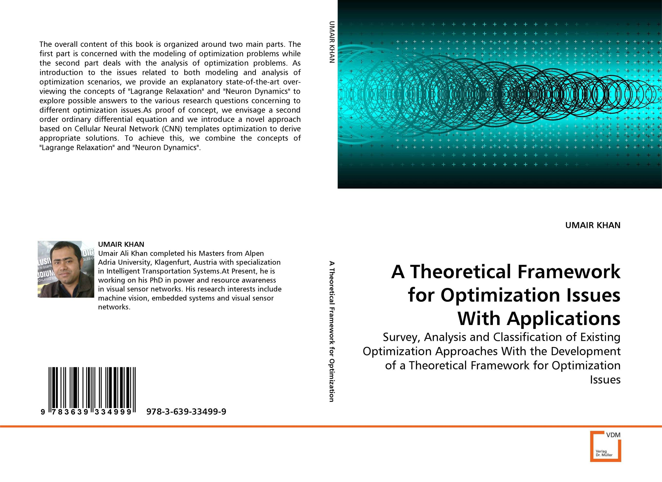 A Theoretical Framework for Optimization Issues With Applications optimization of hydro generation scheduling