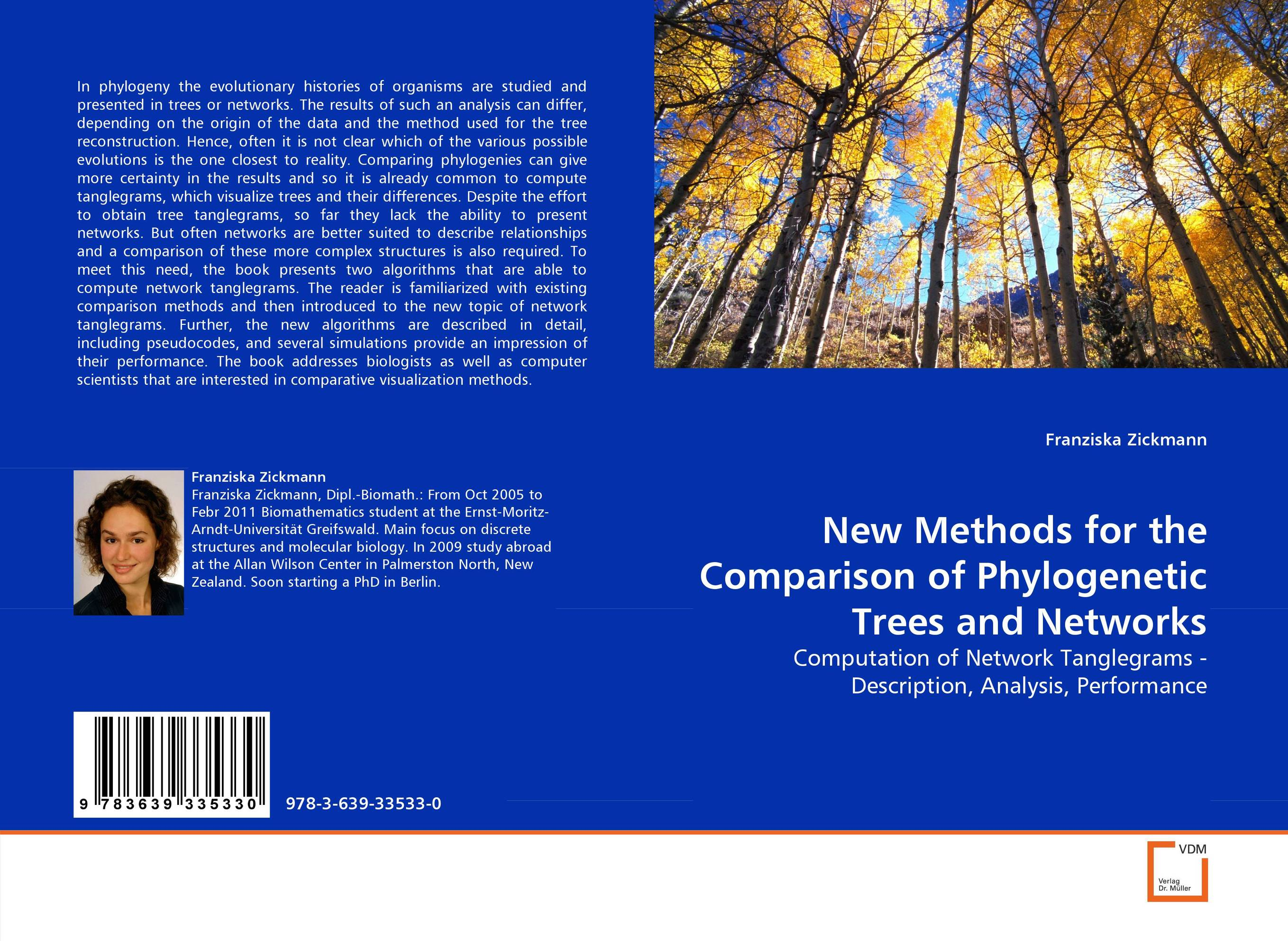 New Methods for the Comparison of Phylogenetic Trees and Networks the trees trees the garden of jane delawney lp