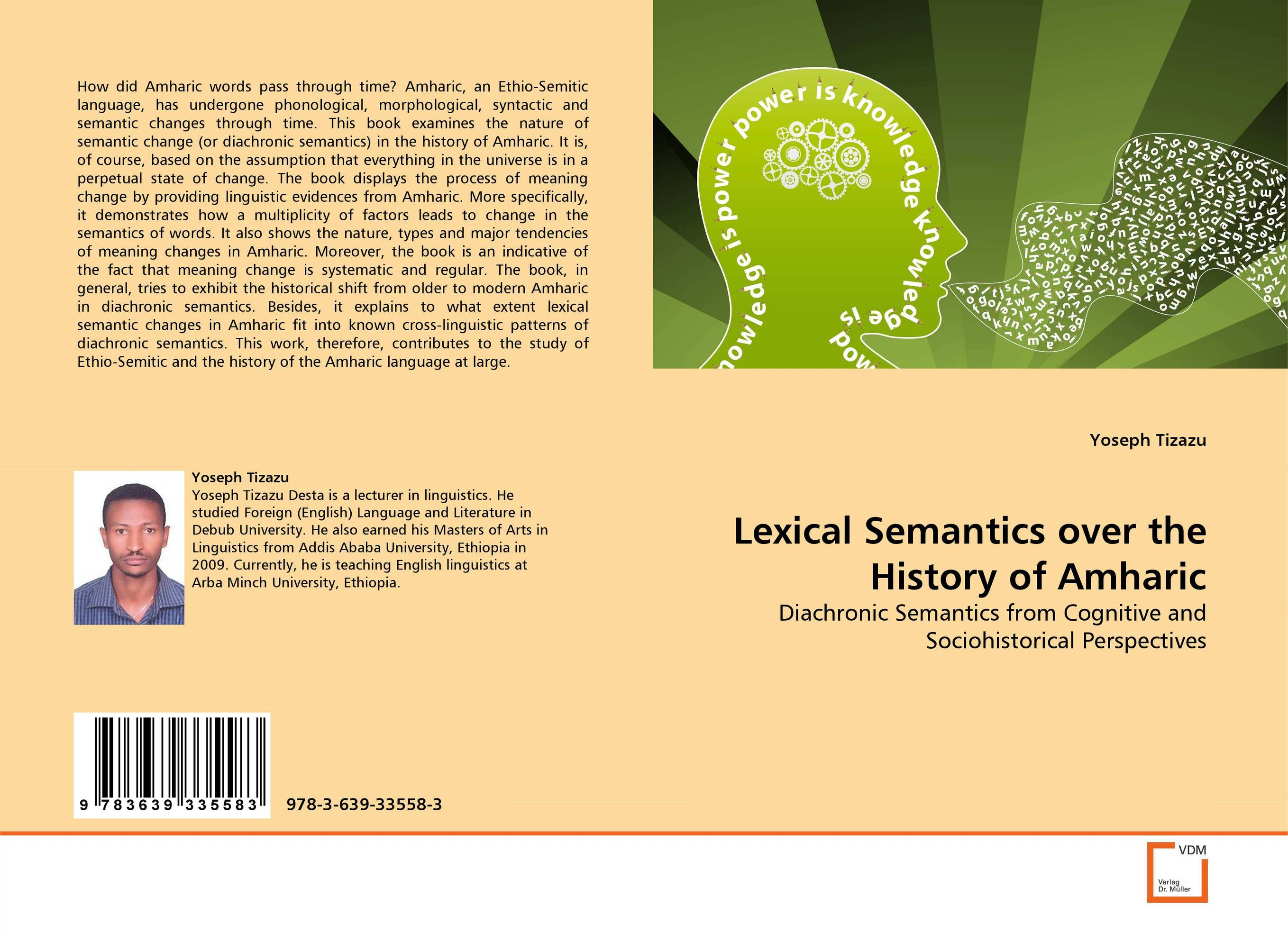 Lexical Semantics over the History of Amharic a cognitive semantics of translating metonyms in the glorious qur an