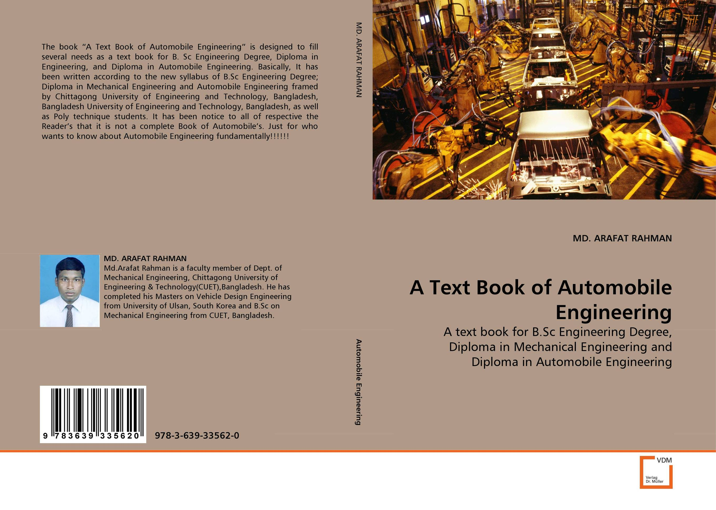 A Text Book of Automobile Engineering цветная бумага henan university of technology press