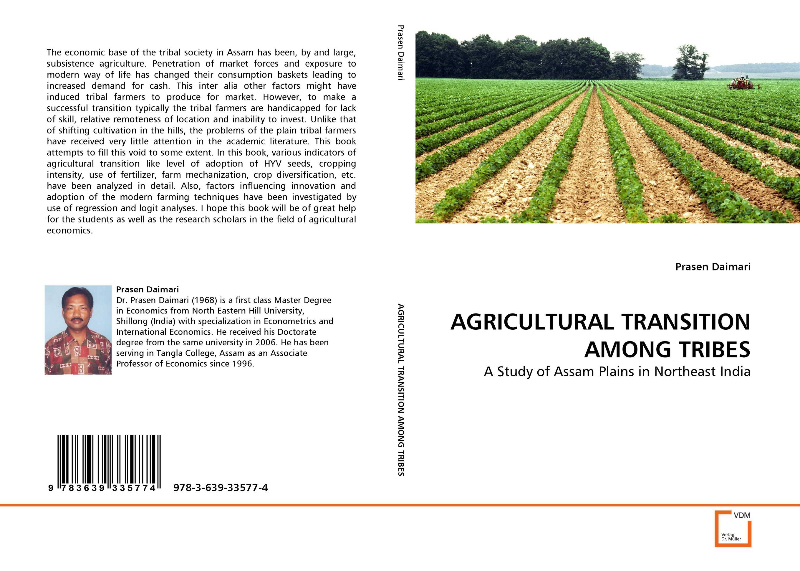 AGRICULTURAL TRANSITION AMONG TRIBES