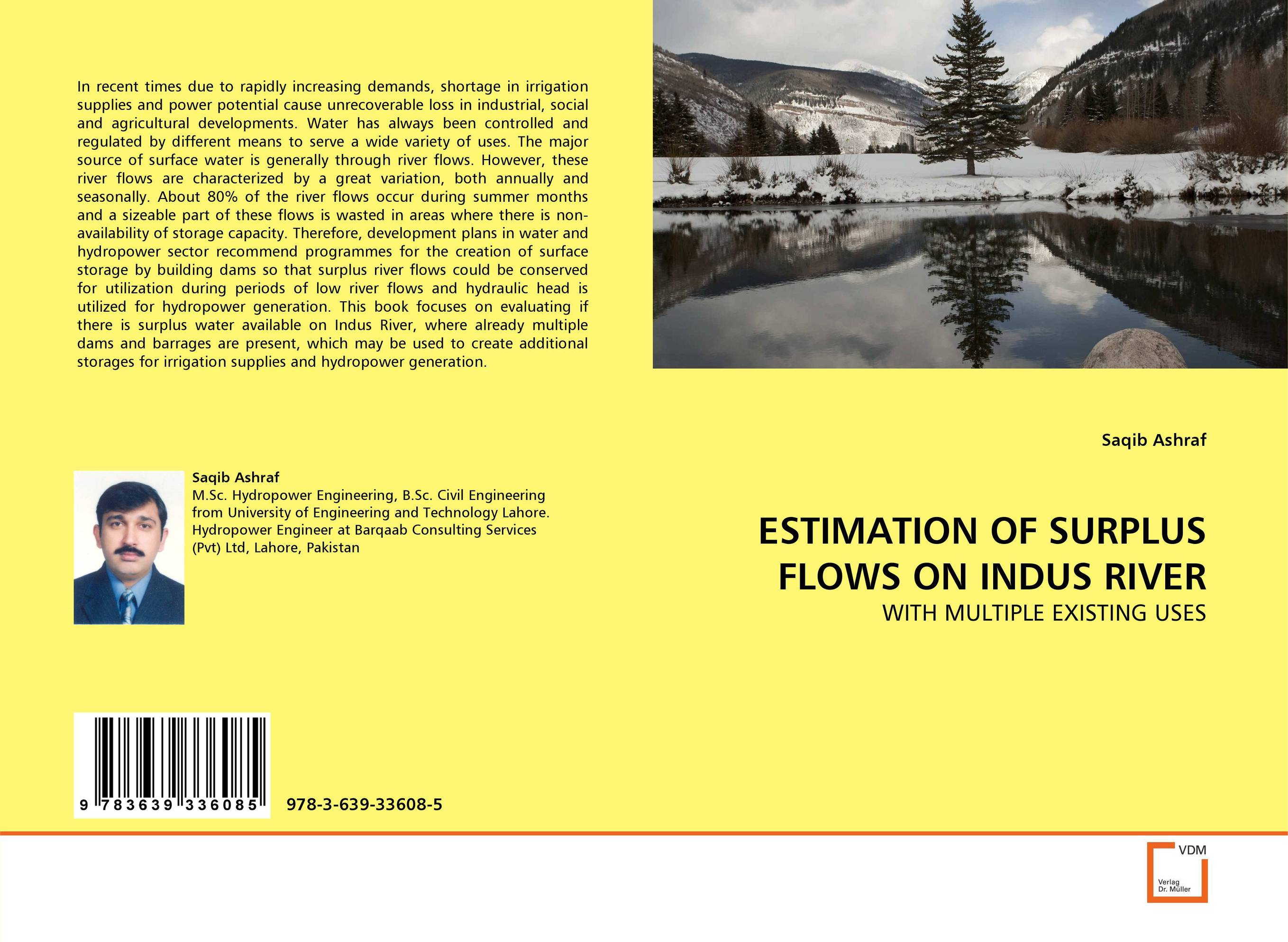 ESTIMATION OF SURPLUS FLOWS ON INDUS RIVER effects of dams on river water quality