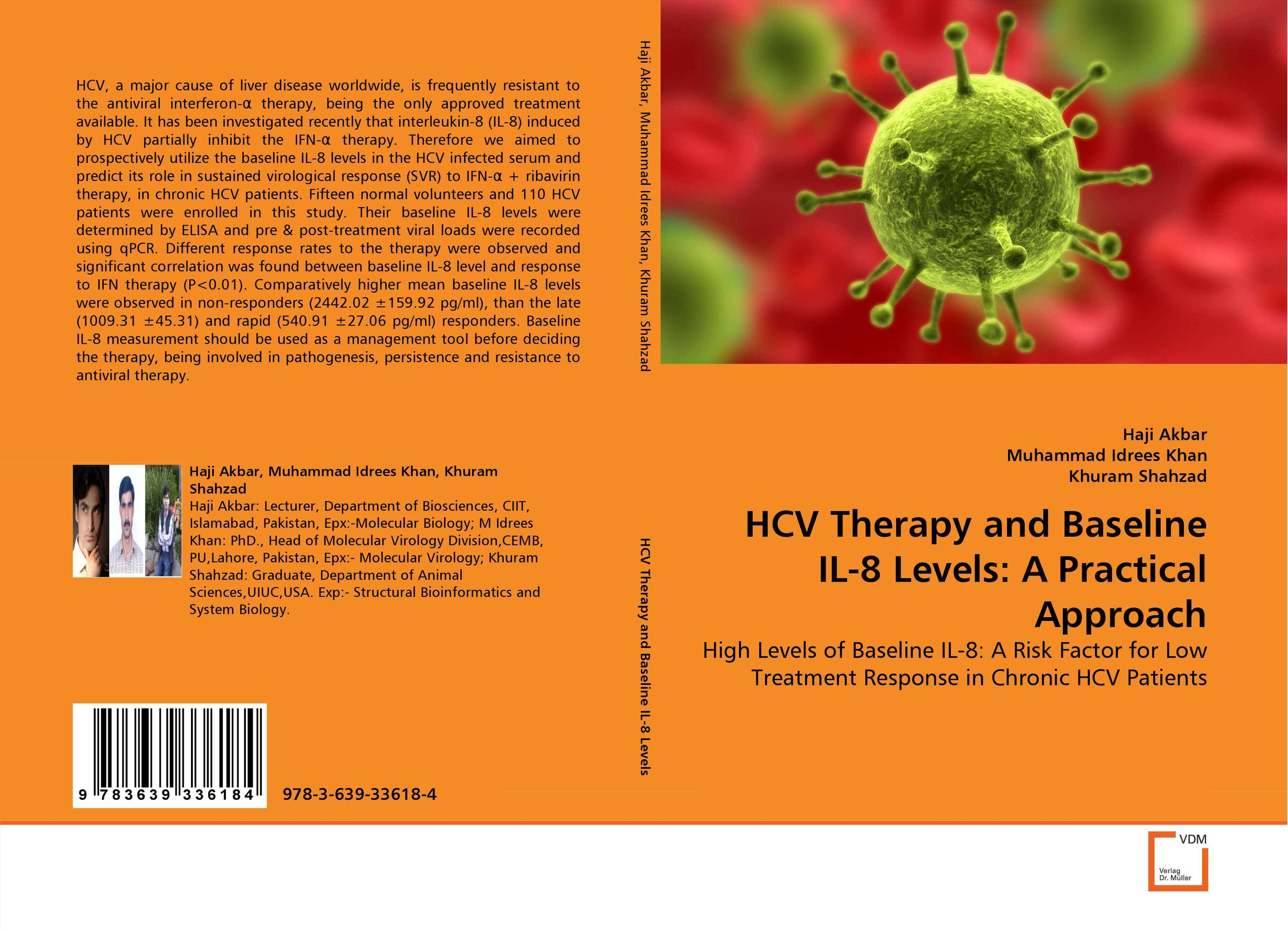 HCV Therapy and Baseline IL-8 Levels: A Practical Approach interleukin 1 polymorphism and treatment response in hcv patients