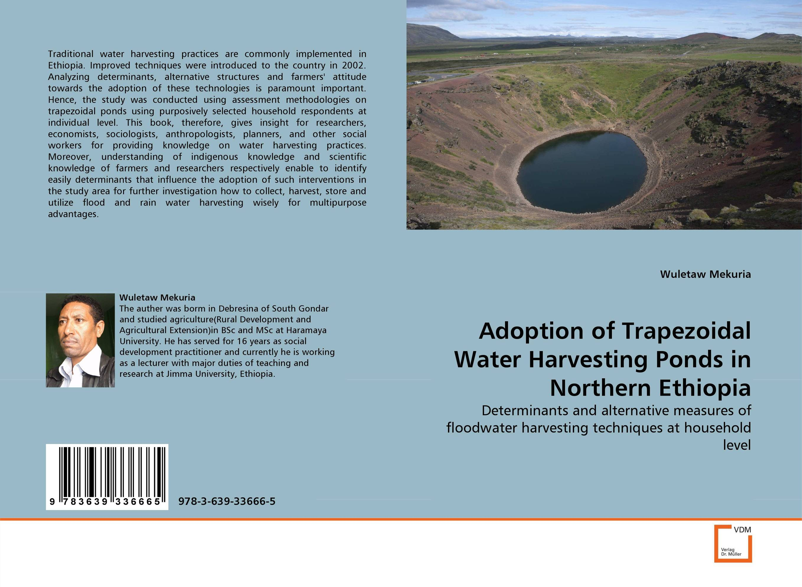 Adoption of Trapezoidal Water Harvesting Ponds in Northern Ethiopia household rainwater harvesting ponds in ethiopia