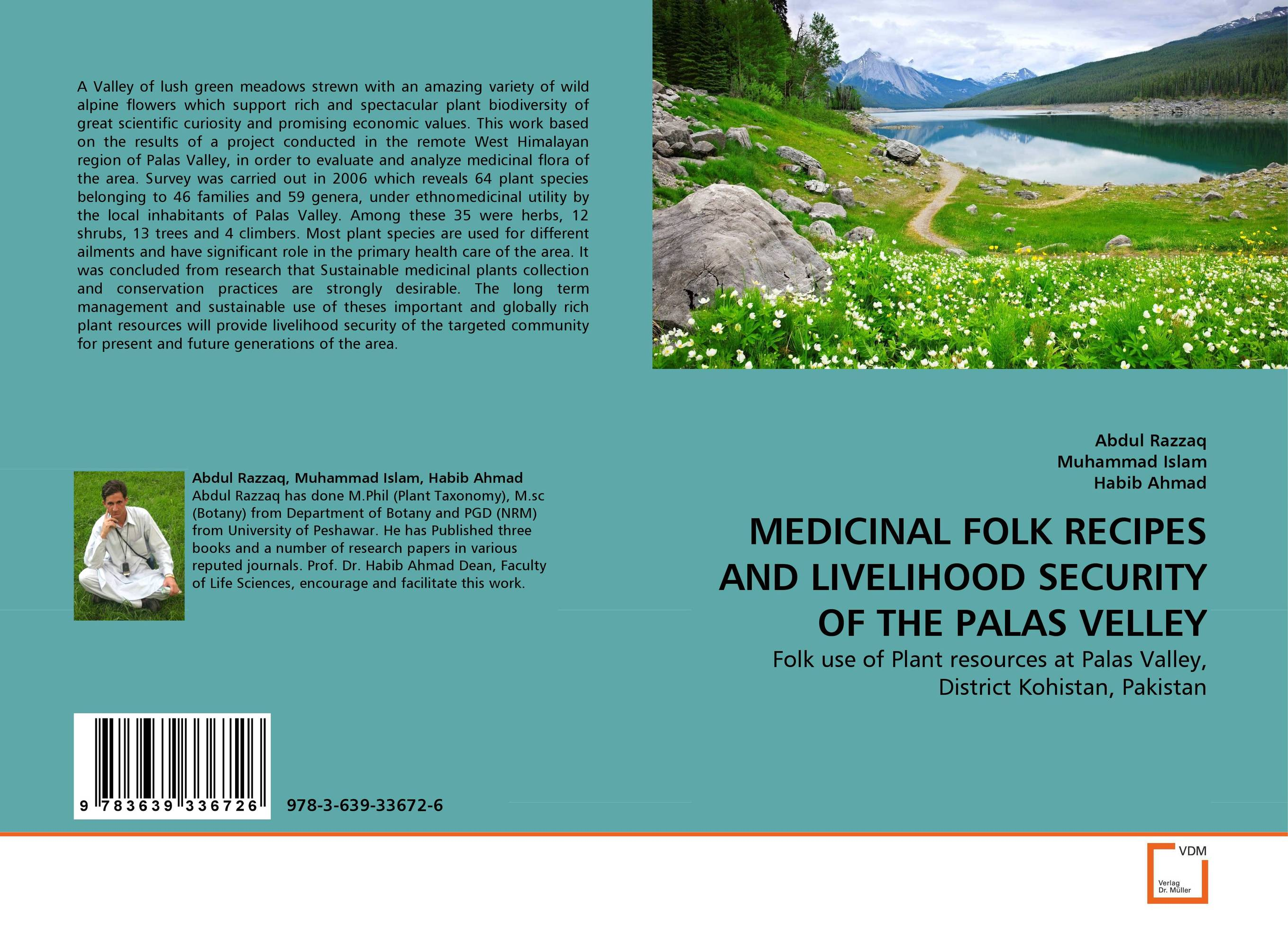MEDICINAL FOLK RECIPES AND LIVELIHOOD SECURITY OF THE PALAS VELLEY