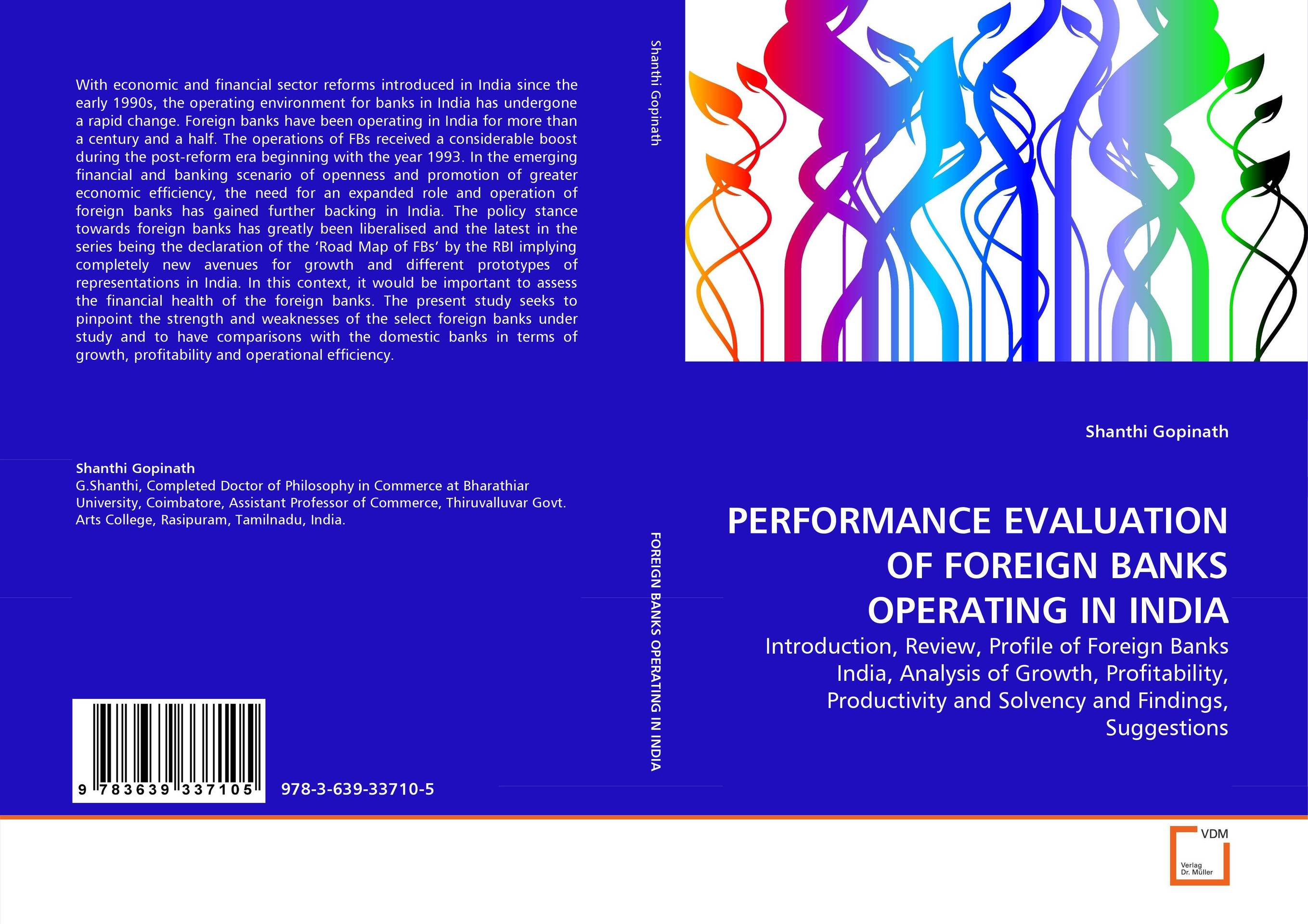 PERFORMANCE EVALUATION OF FOREIGN BANKS OPERATING IN INDIA empirical evaluation of operational efficiency of major ports in india
