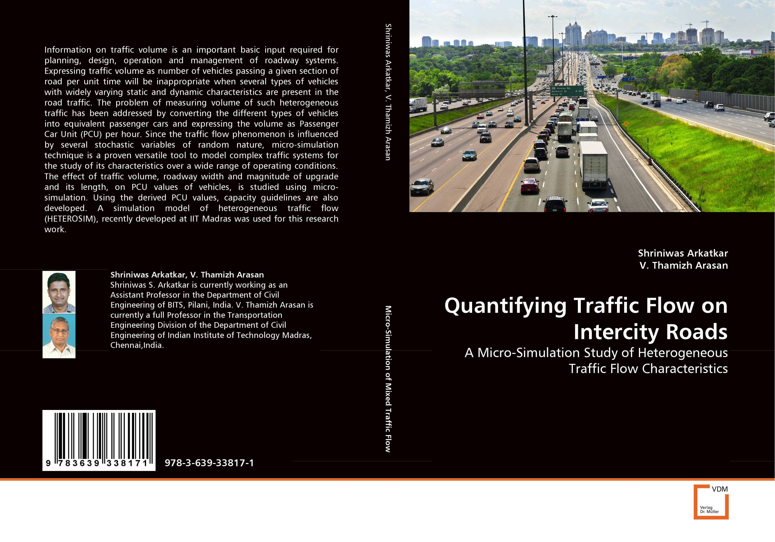 Quantifying Traffic Flow on Intercity Roads yec ccs pcu