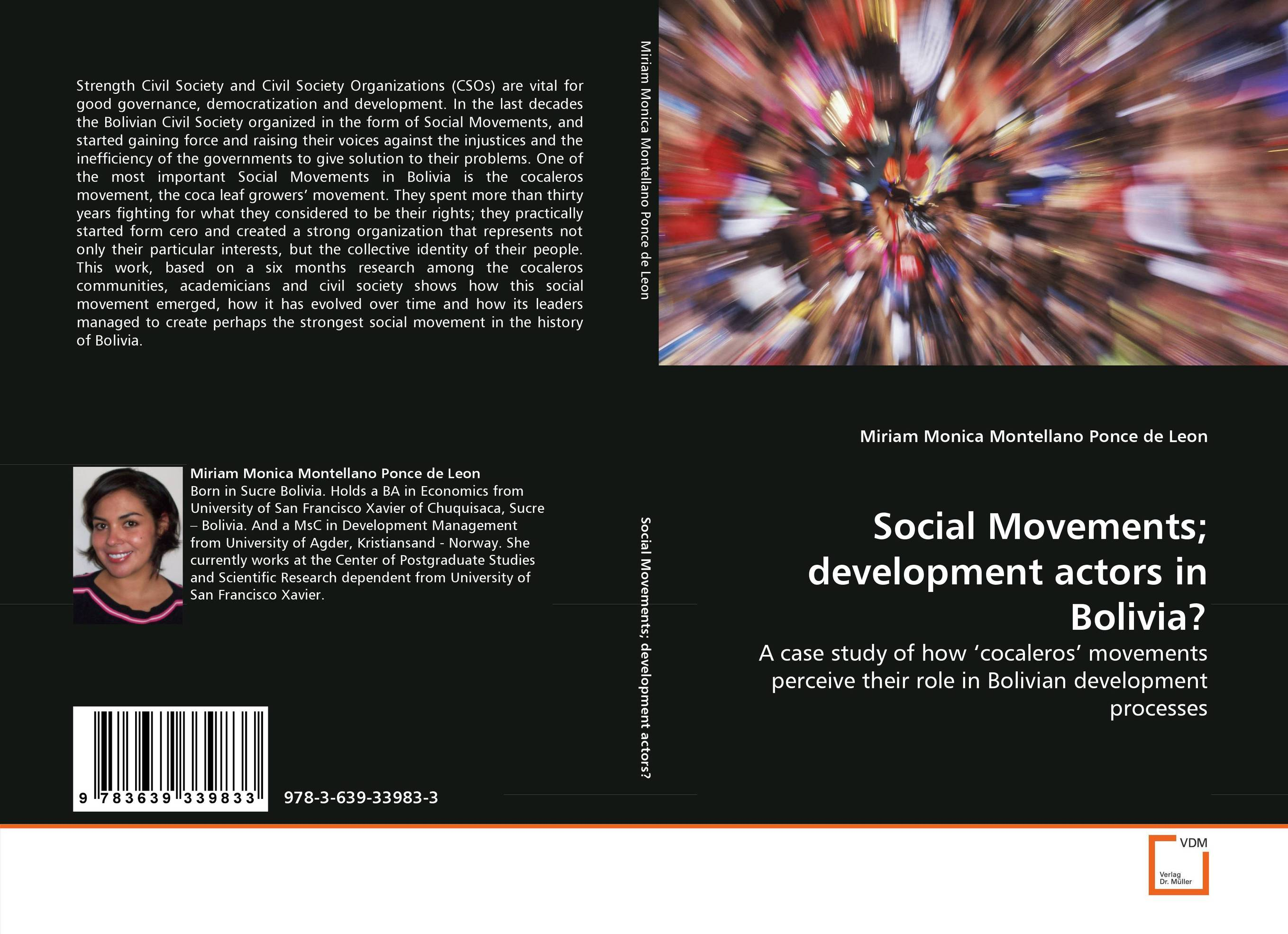 Social Movements; development actors in Bolivia? the demands of liberty – civil society in france since the revolution