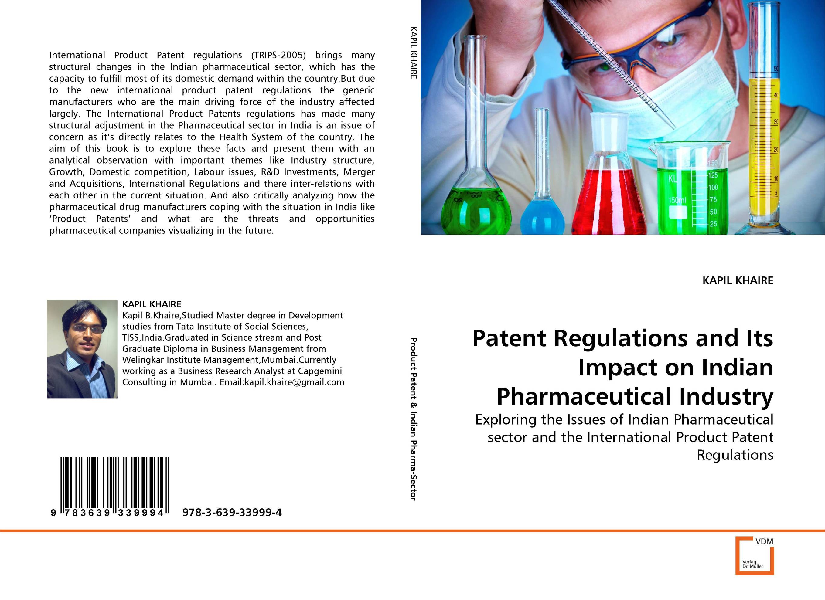 Patent Regulations and Its Impact on Indian Pharmaceutical Industry купить