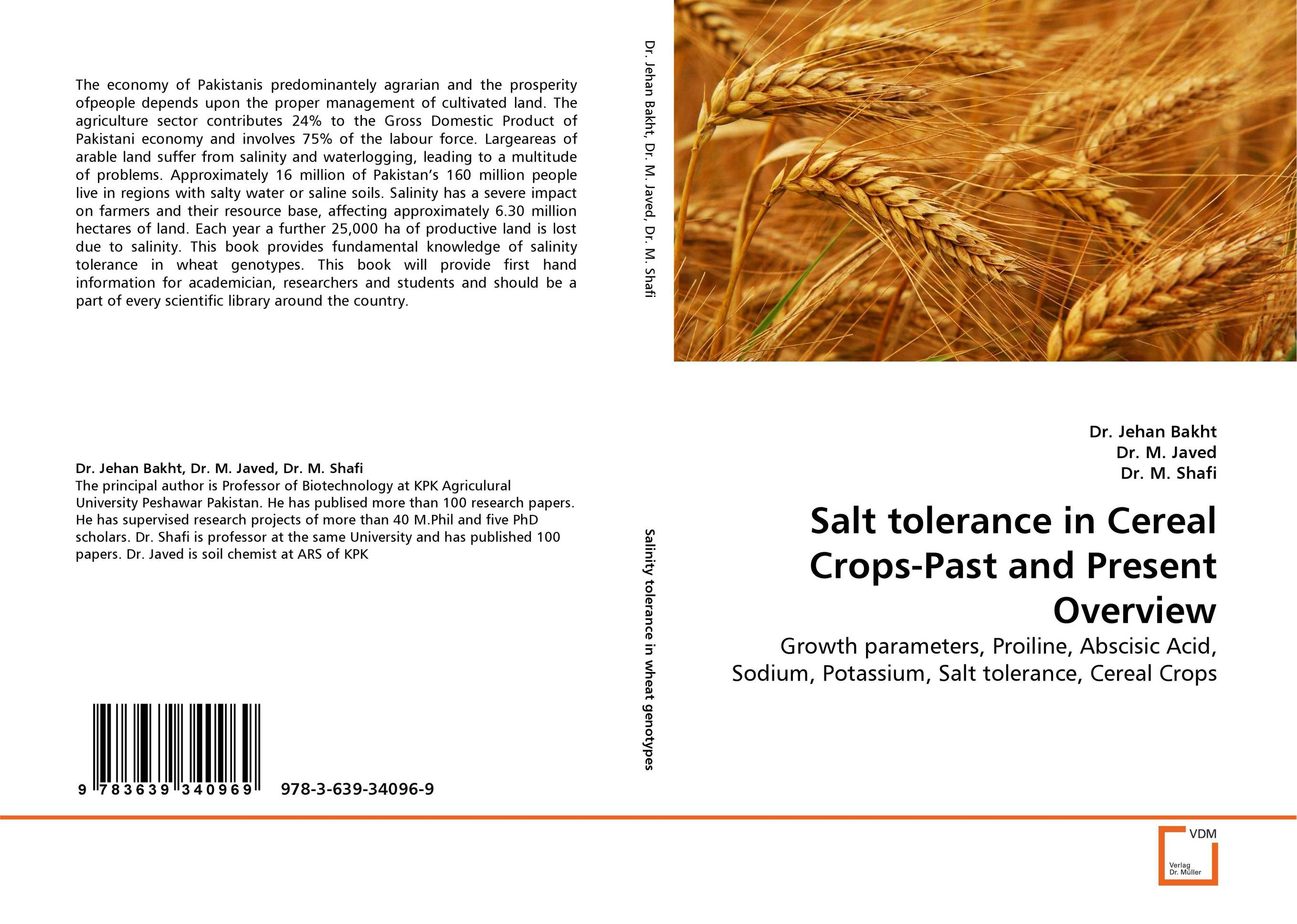 Salt tolerance in Cereal Crops-Past and Present Overview land of savagery land of promise – the european image of the american