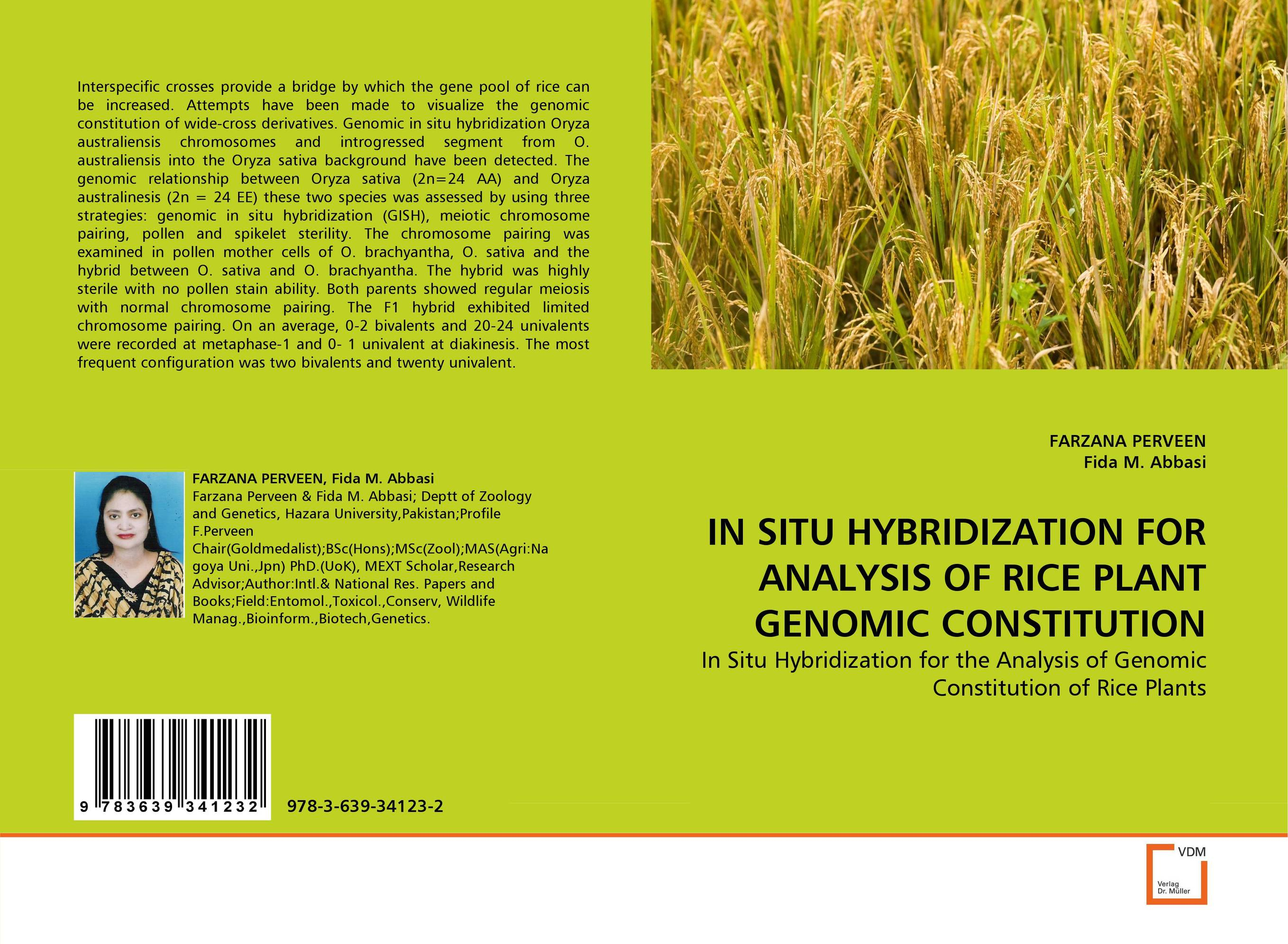 IN SITU HYBRIDIZATION FOR ANALYSIS OF RICE PLANT GENOMIC CONSTITUTION парка chromosome chromosome ch036emndg39