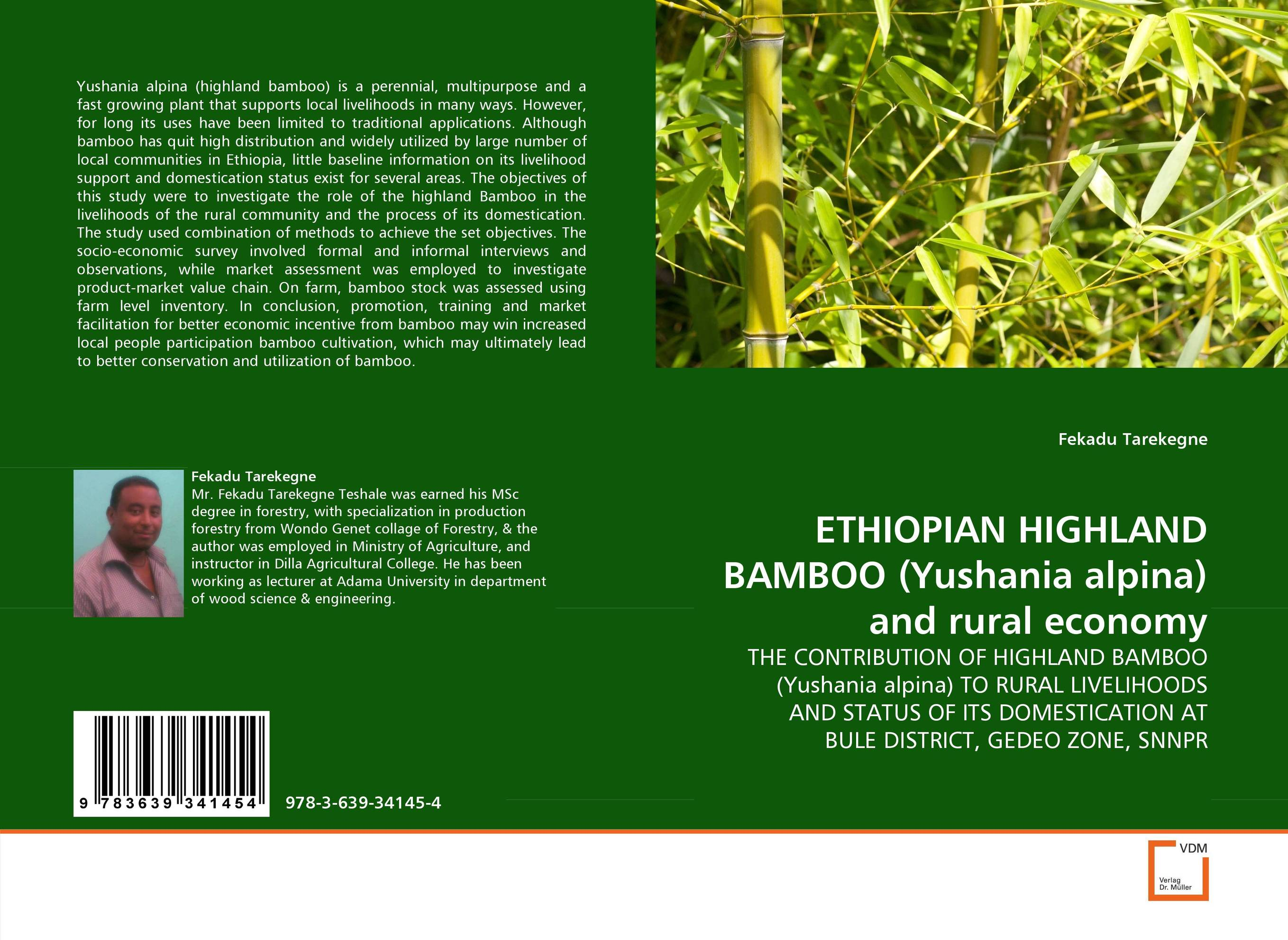 ETHIOPIAN HIGHLAND BAMBOO (Yushania alpina) and rural economy the highland fling murders