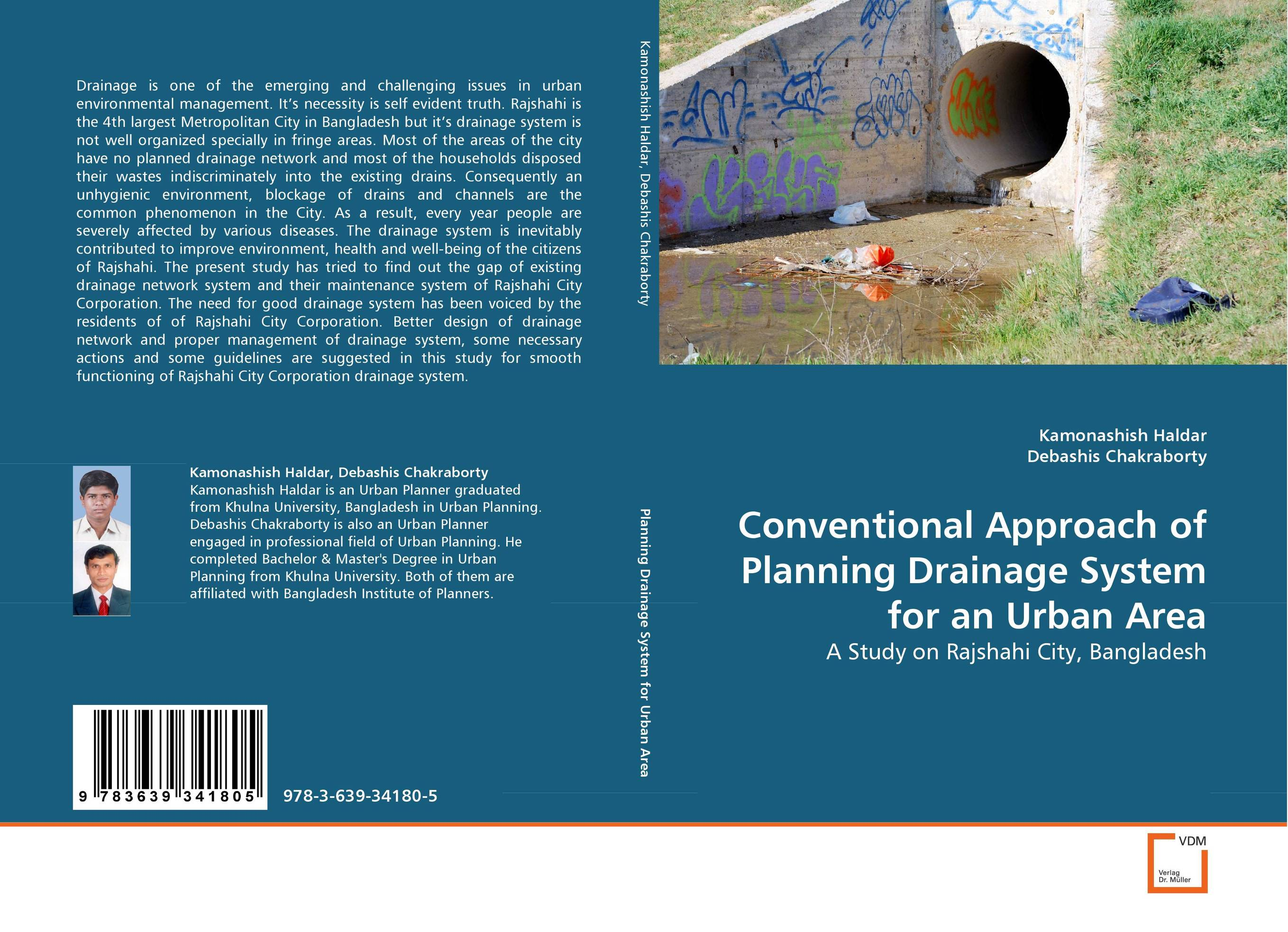 Conventional Approach of Planning Drainage System for an Urban Area design and implement network management system