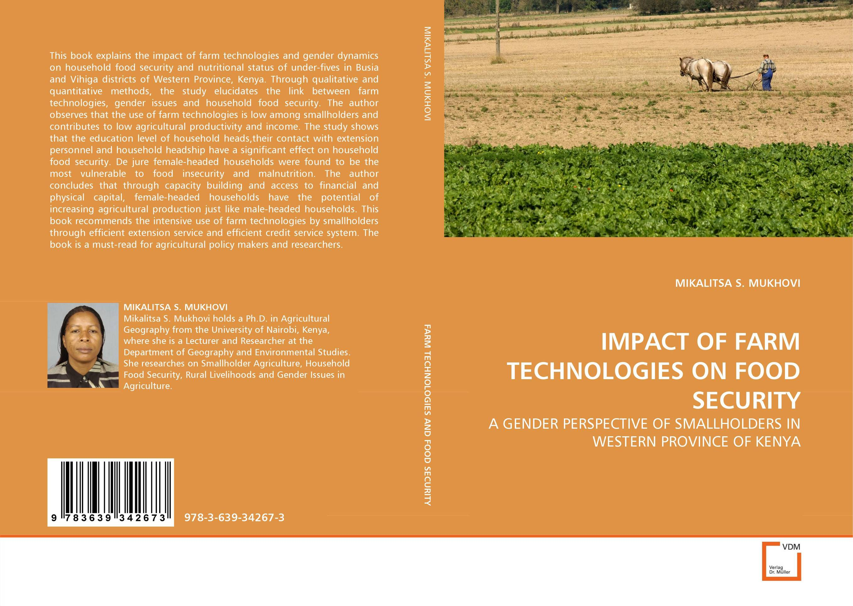 IMPACT OF FARM TECHNOLOGIES ON FOOD SECURITY