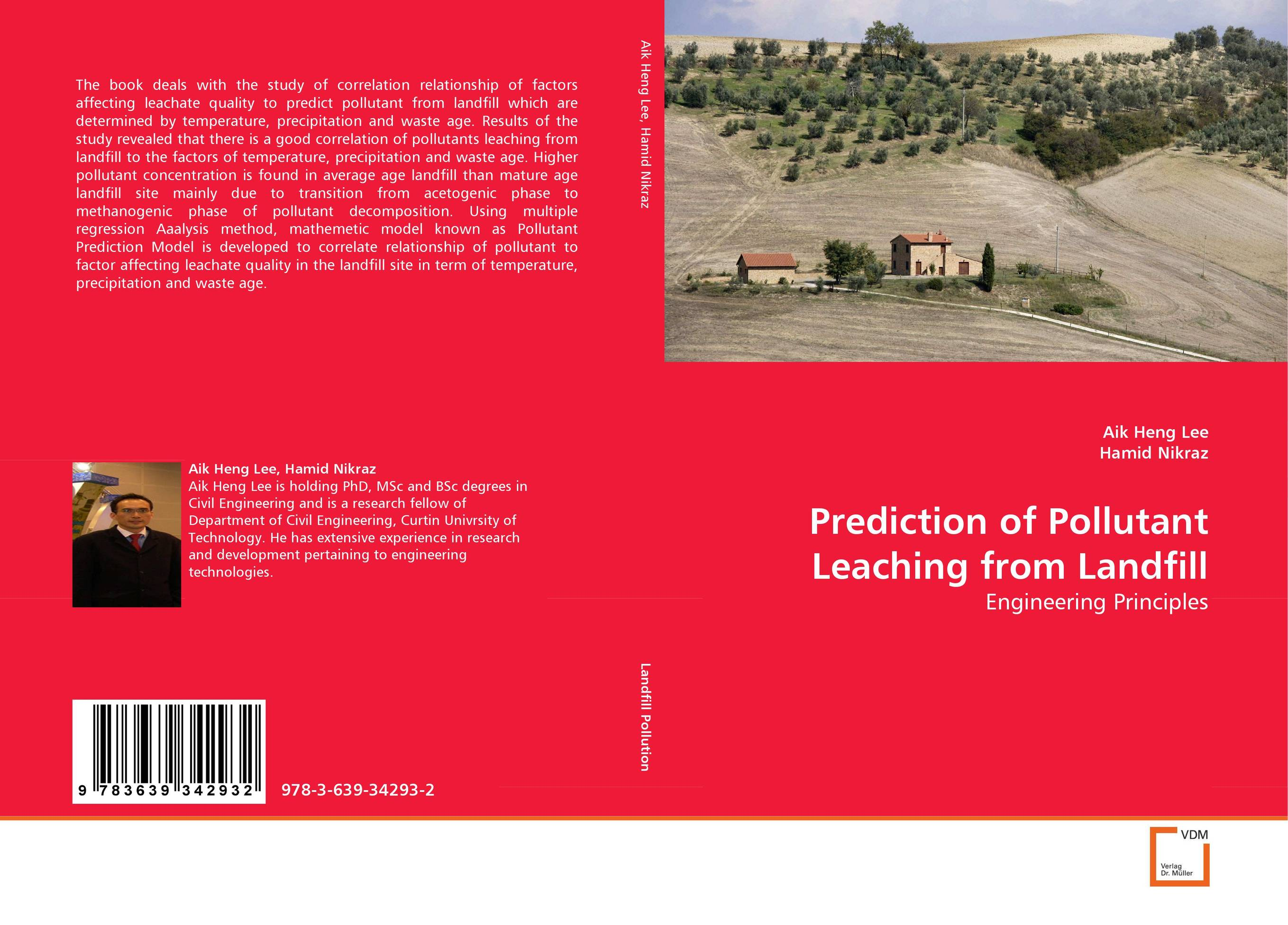 Prediction of Pollutant Leaching from Landfill