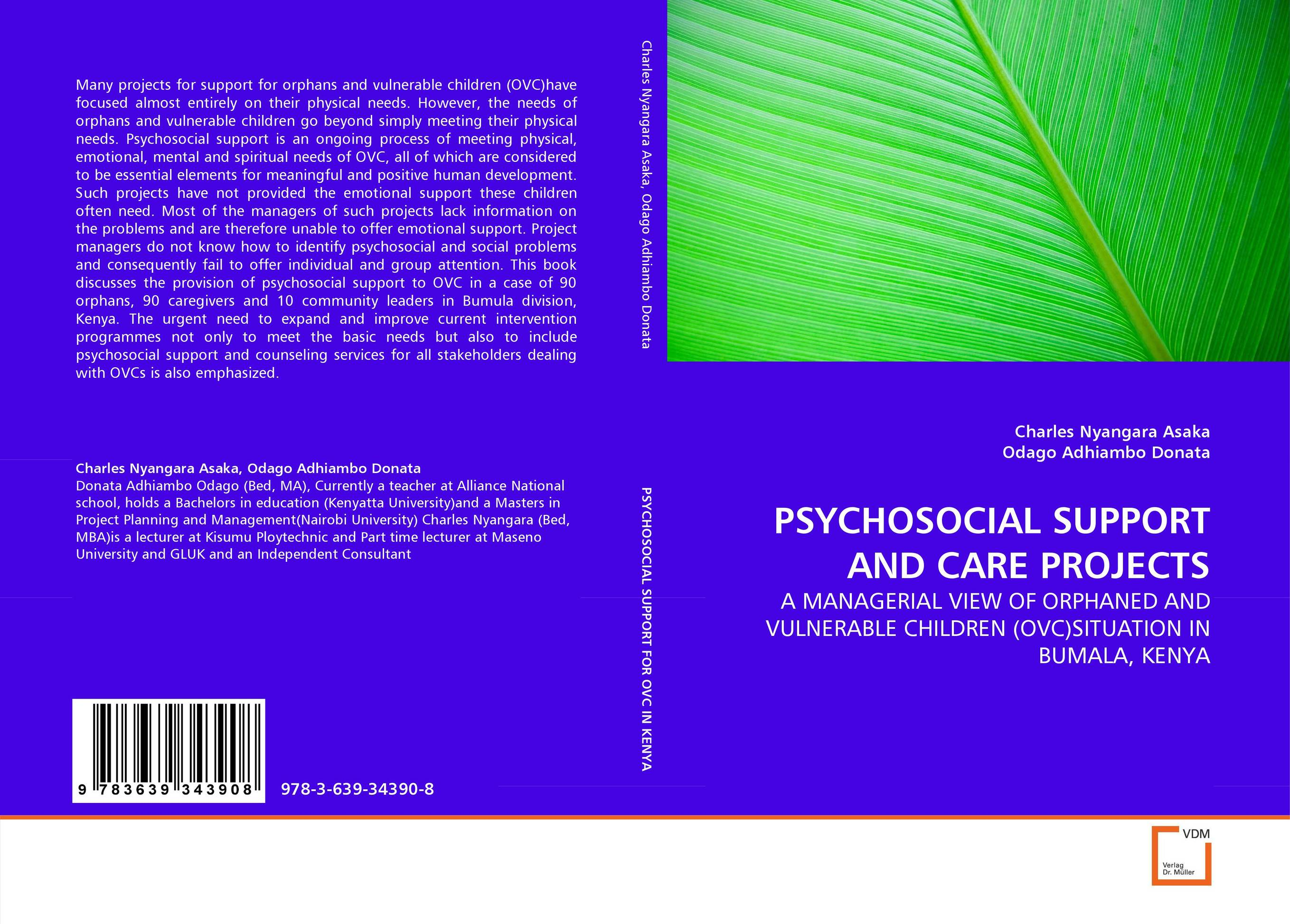 PSYCHOSOCIAL SUPPORT AND CARE PROJECTS