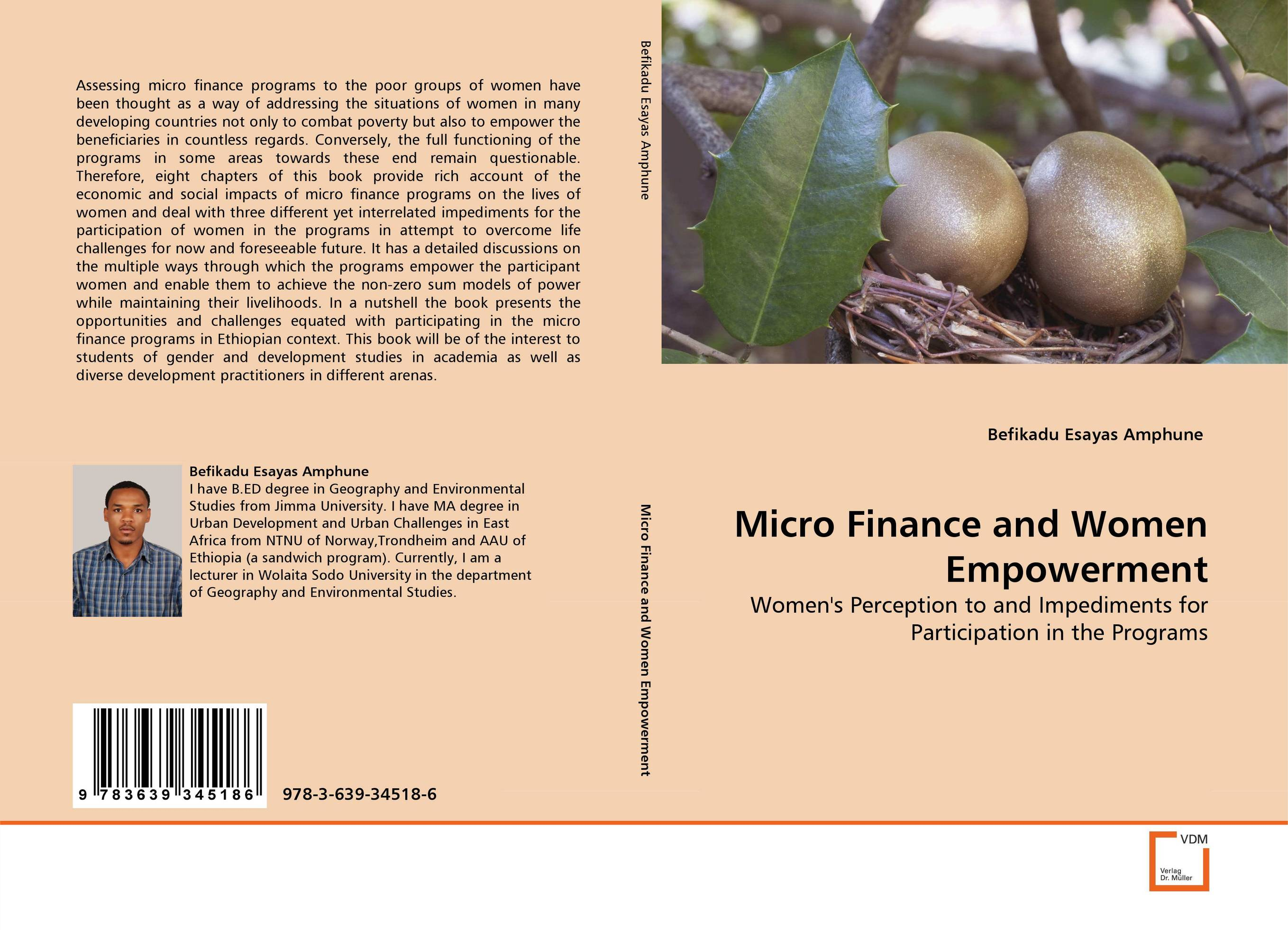 Micro Finance and Women Empowerment jaynal ud din ahmed and mohd abdul rashid institutional finance for micro and small entreprises in india