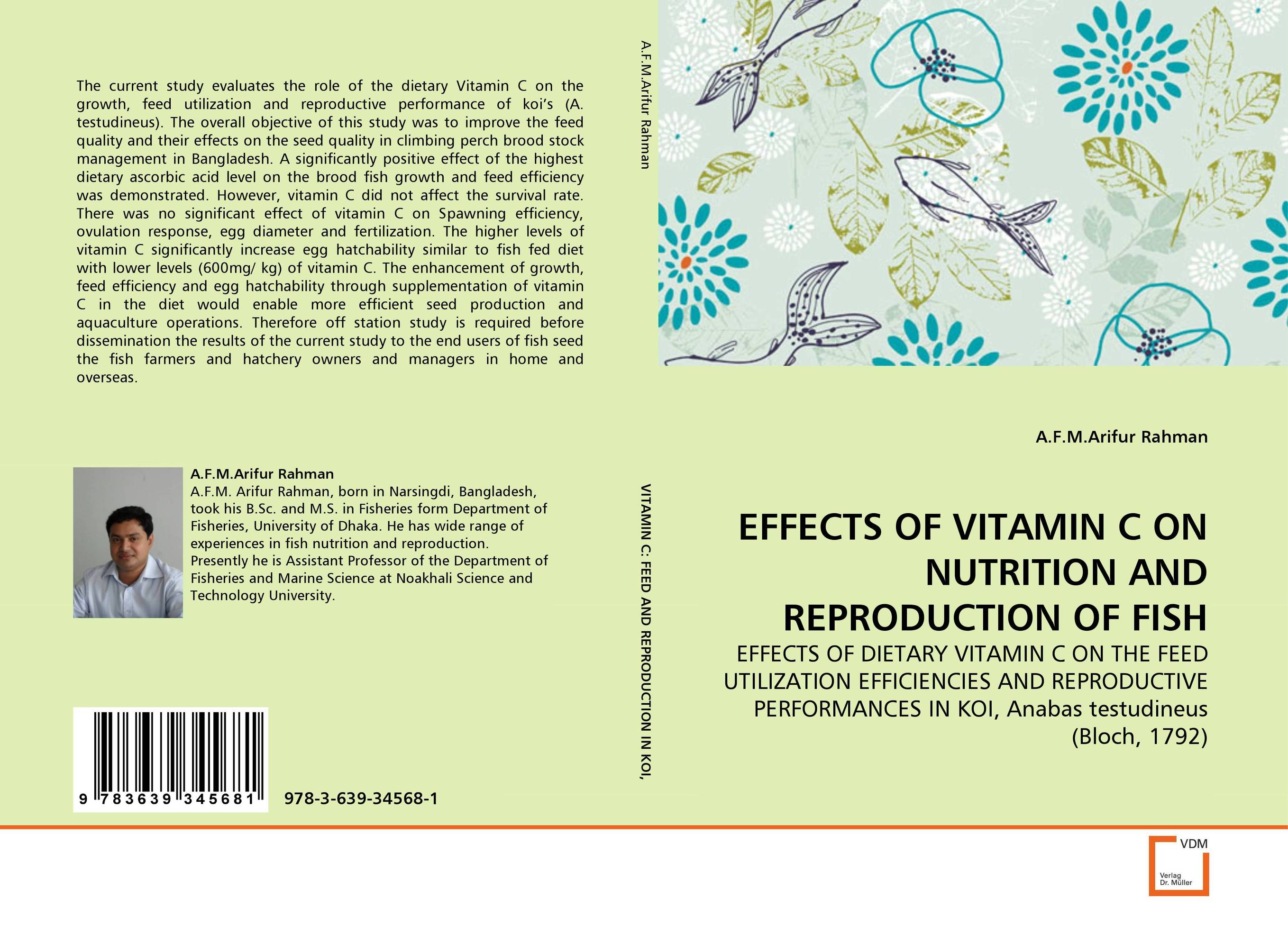 EFFECTS OF VITAMIN C ON NUTRITION AND REPRODUCTION OF FISH saeid navid effect of papaya leaf meal and vitamin d3 on meat quality