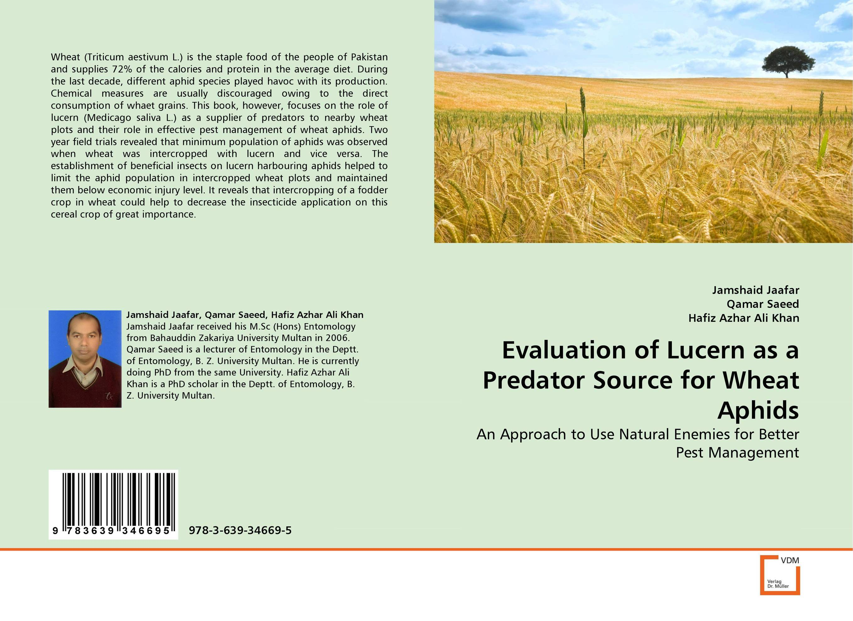 Evaluation of Lucern as a Predator Source for Wheat Aphids evaluation of the impact of a mega sporting event