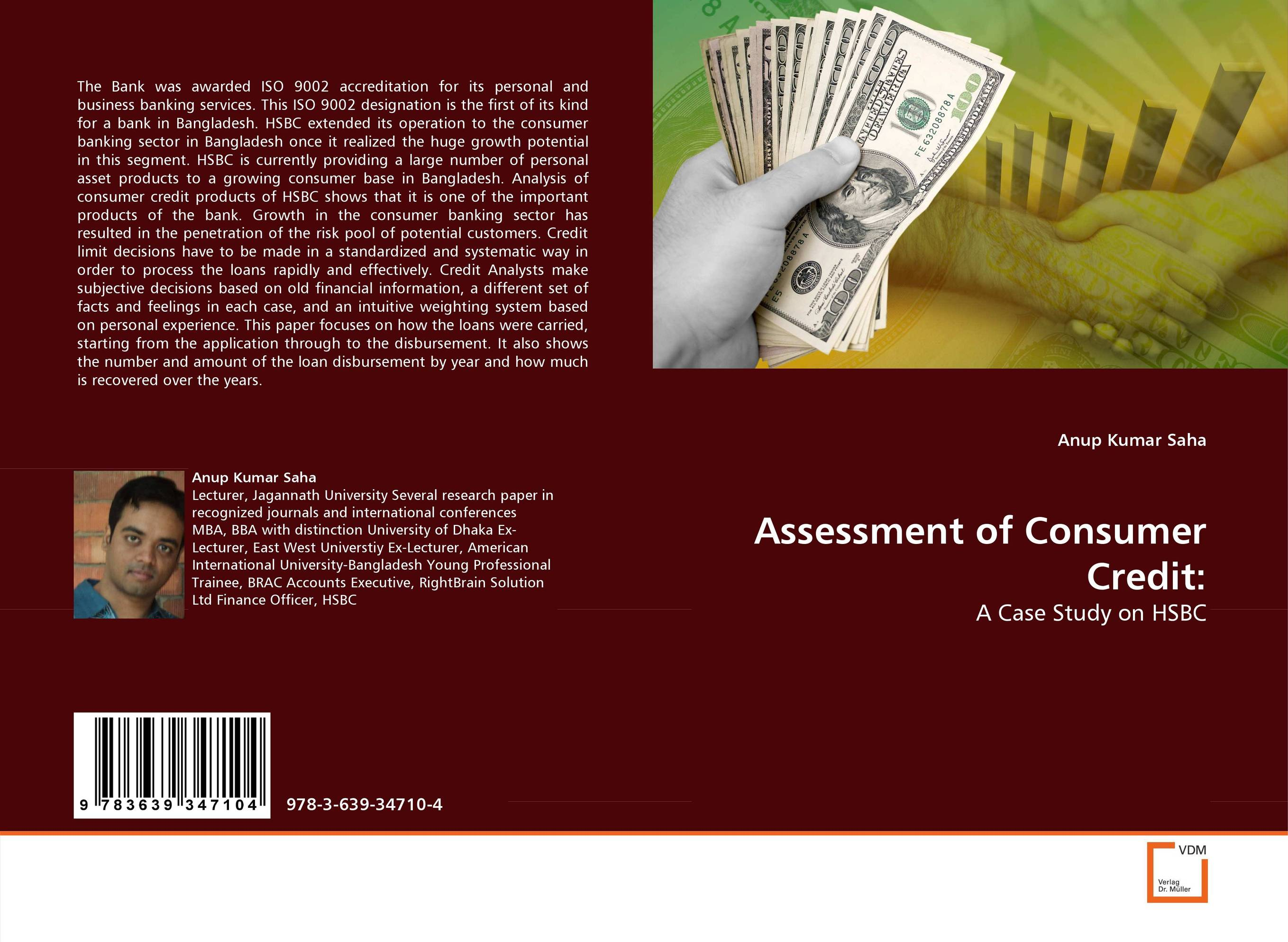 Assessment of Consumer Credit: