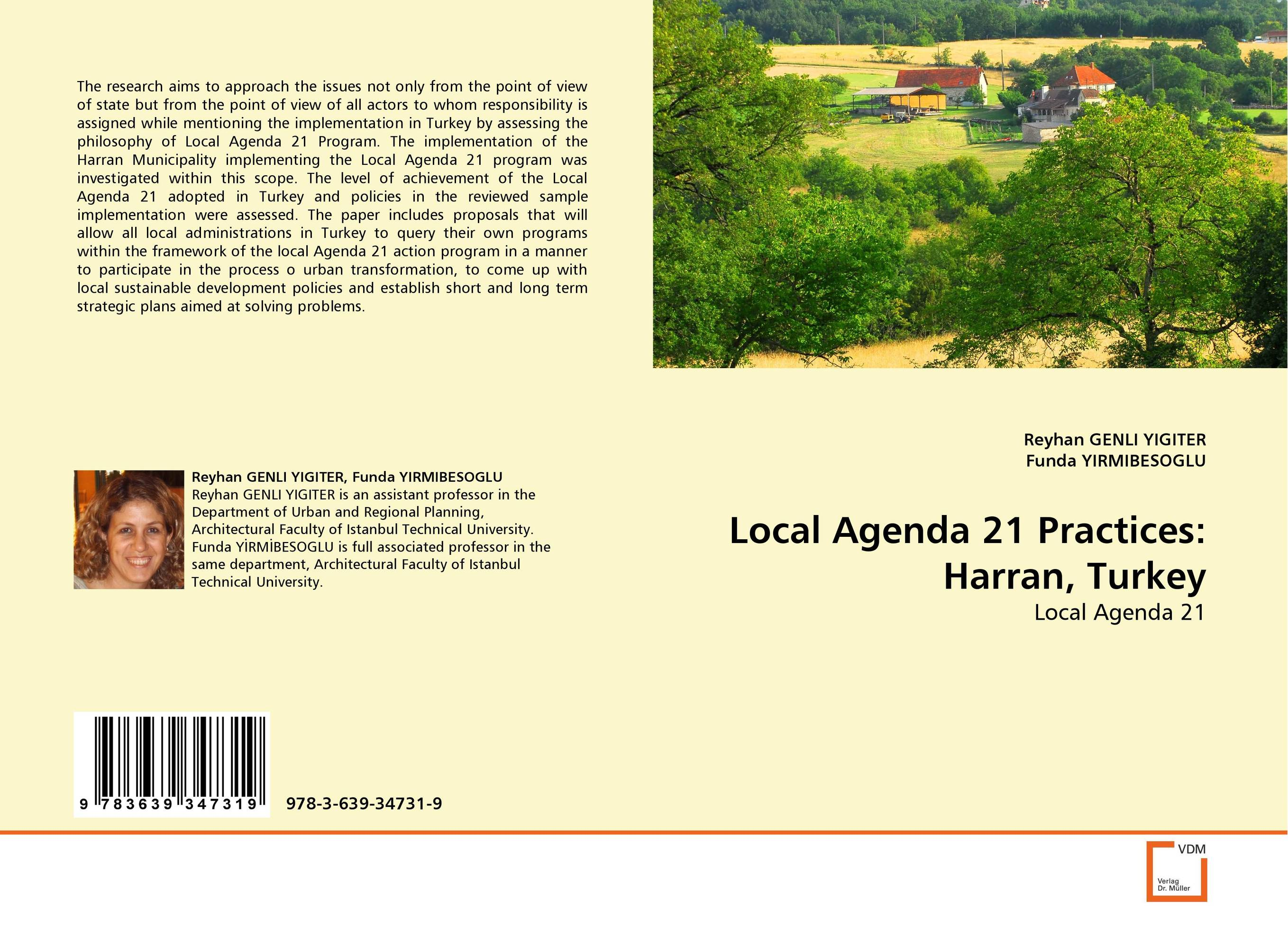Local Agenda 21 Practices: Harran, Turkey implementation of strategic plans