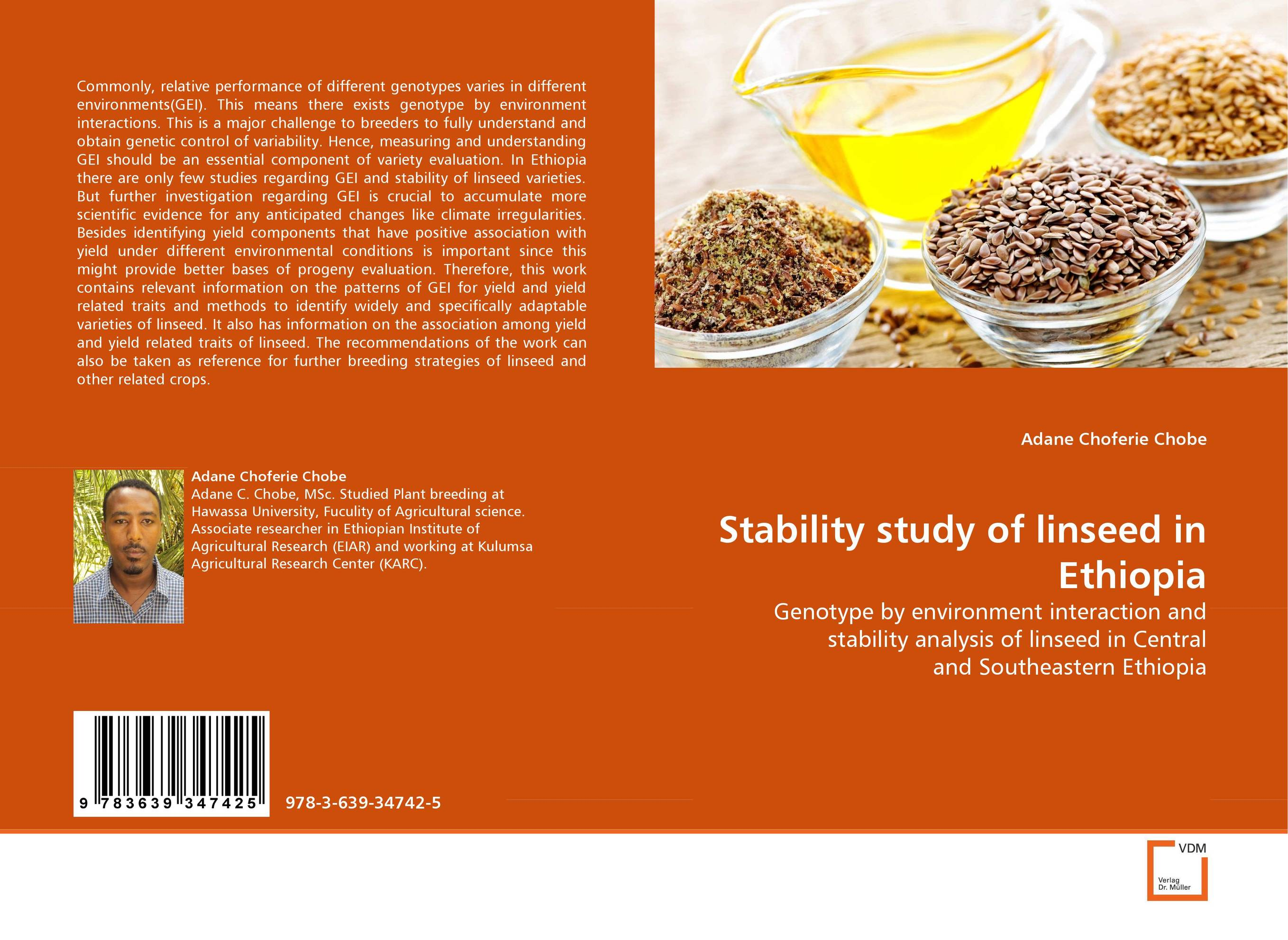Stability study of linseed in Ethiopia genetic diversity in linseed