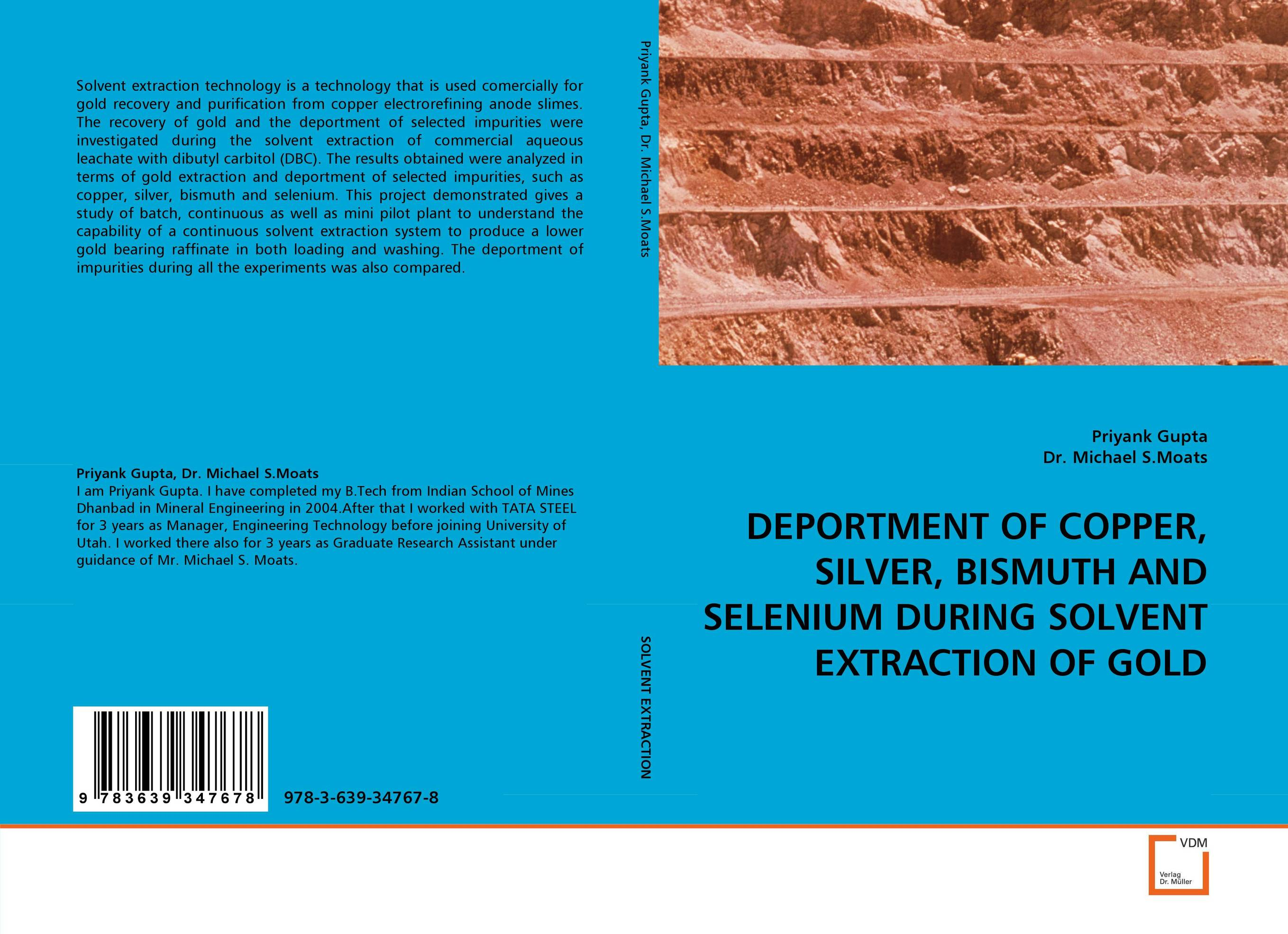 DEPORTMENT OF COPPER, SILVER, BISMUTH AND SELENIUM DURING SOLVENT EXTRACTION OF GOLD handbook of isolation and characterization of impurities in pharmaceuticals 5