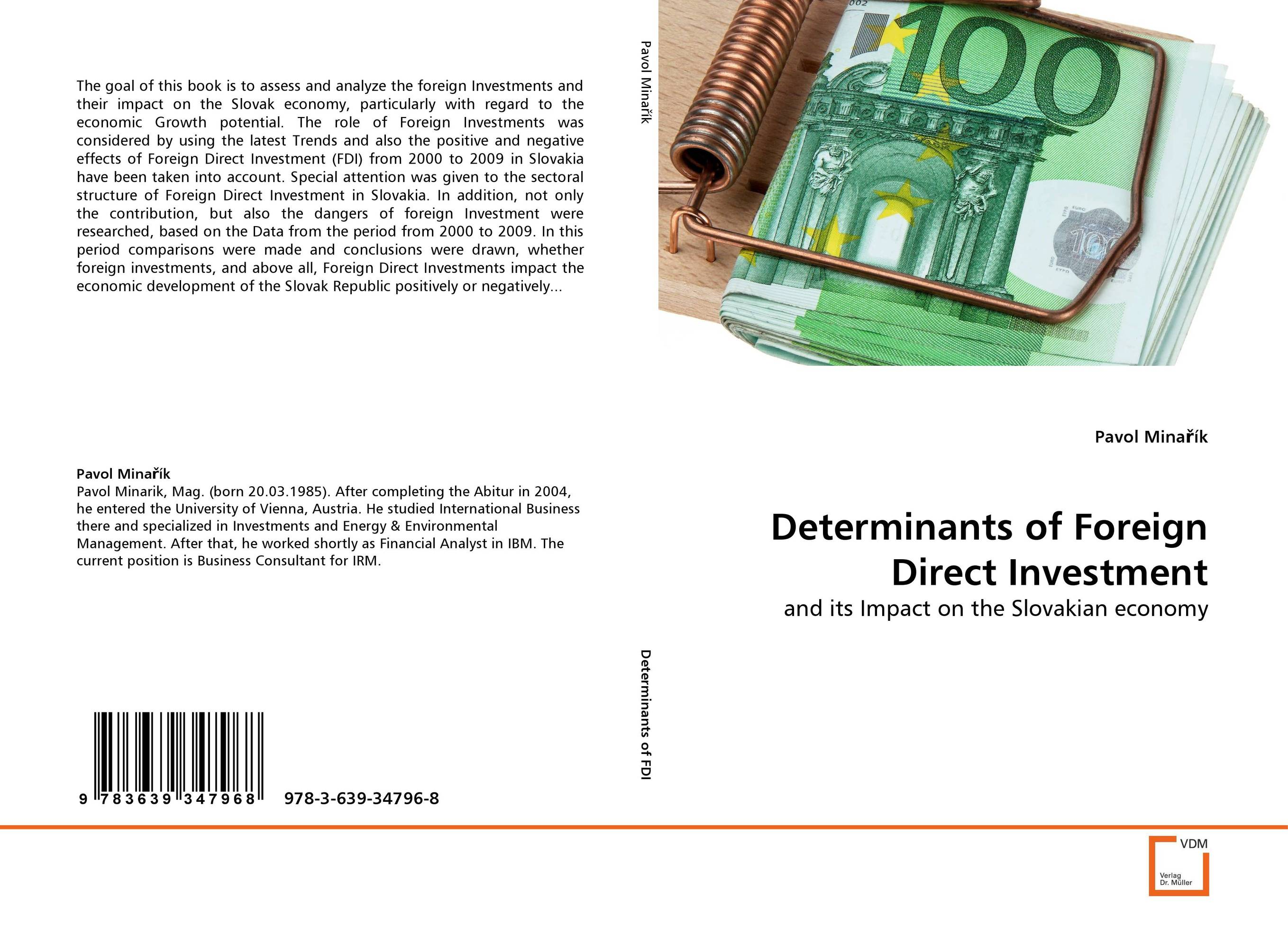 Determinants of Foreign Direct Investment innovations fixed investments and economic growth the eu context