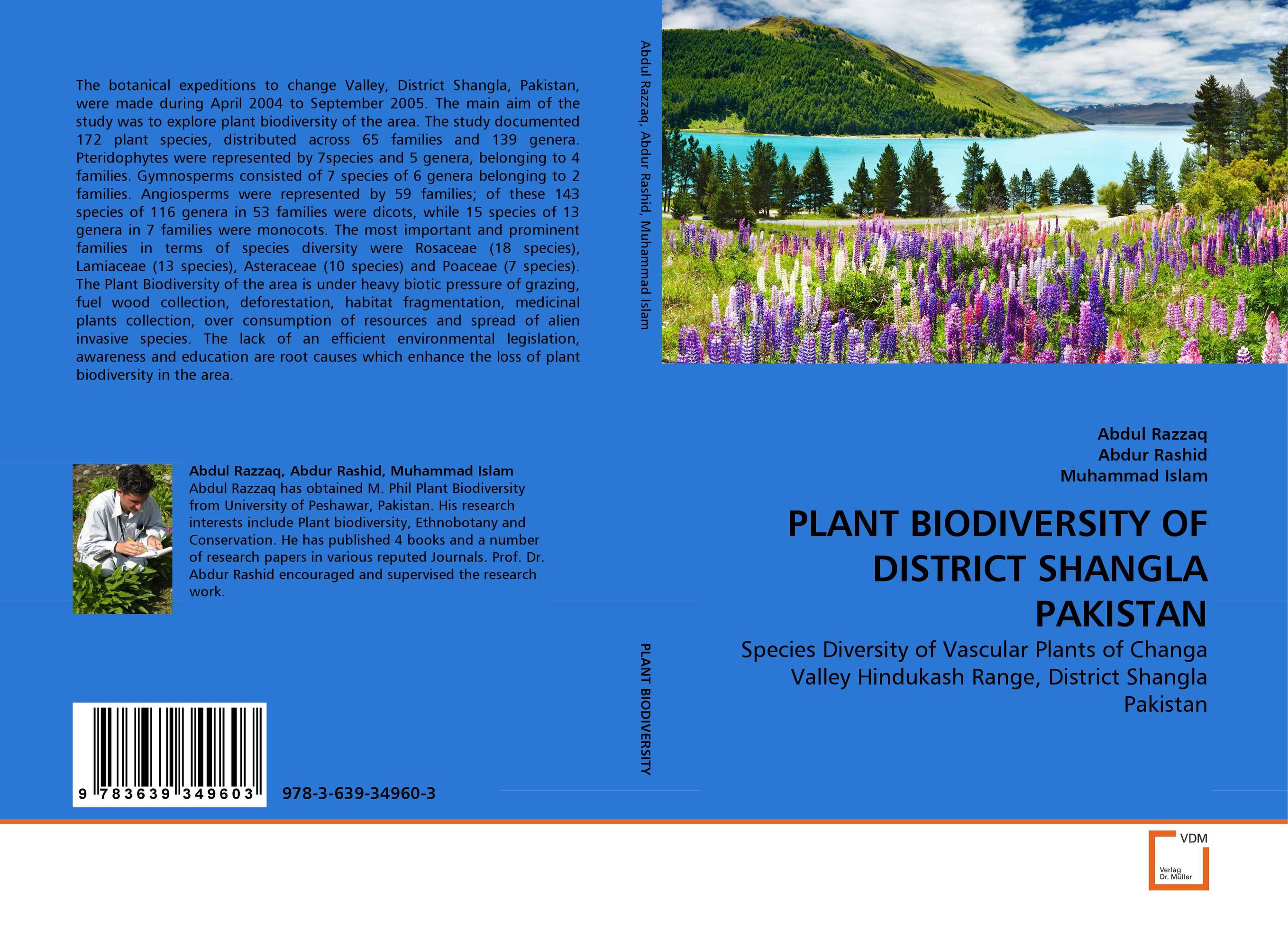PLANT BIODIVERSITY OF DISTRICT SHANGLA PAKISTAN anatomical studies on species of subfamily stachyoideae lamiaceae
