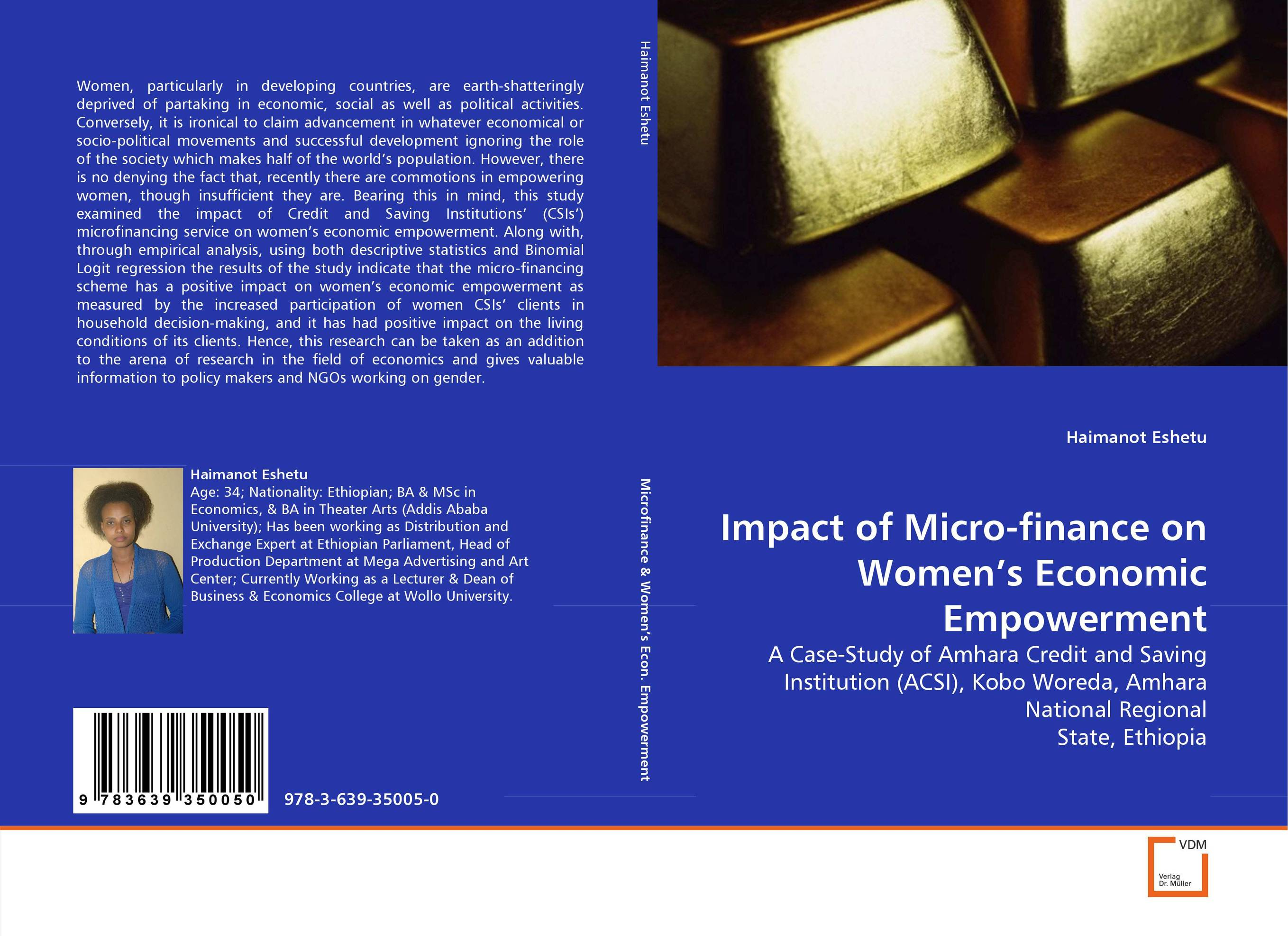 Impact of Micro-finance on Women''s Economic Empowerment цена и фото