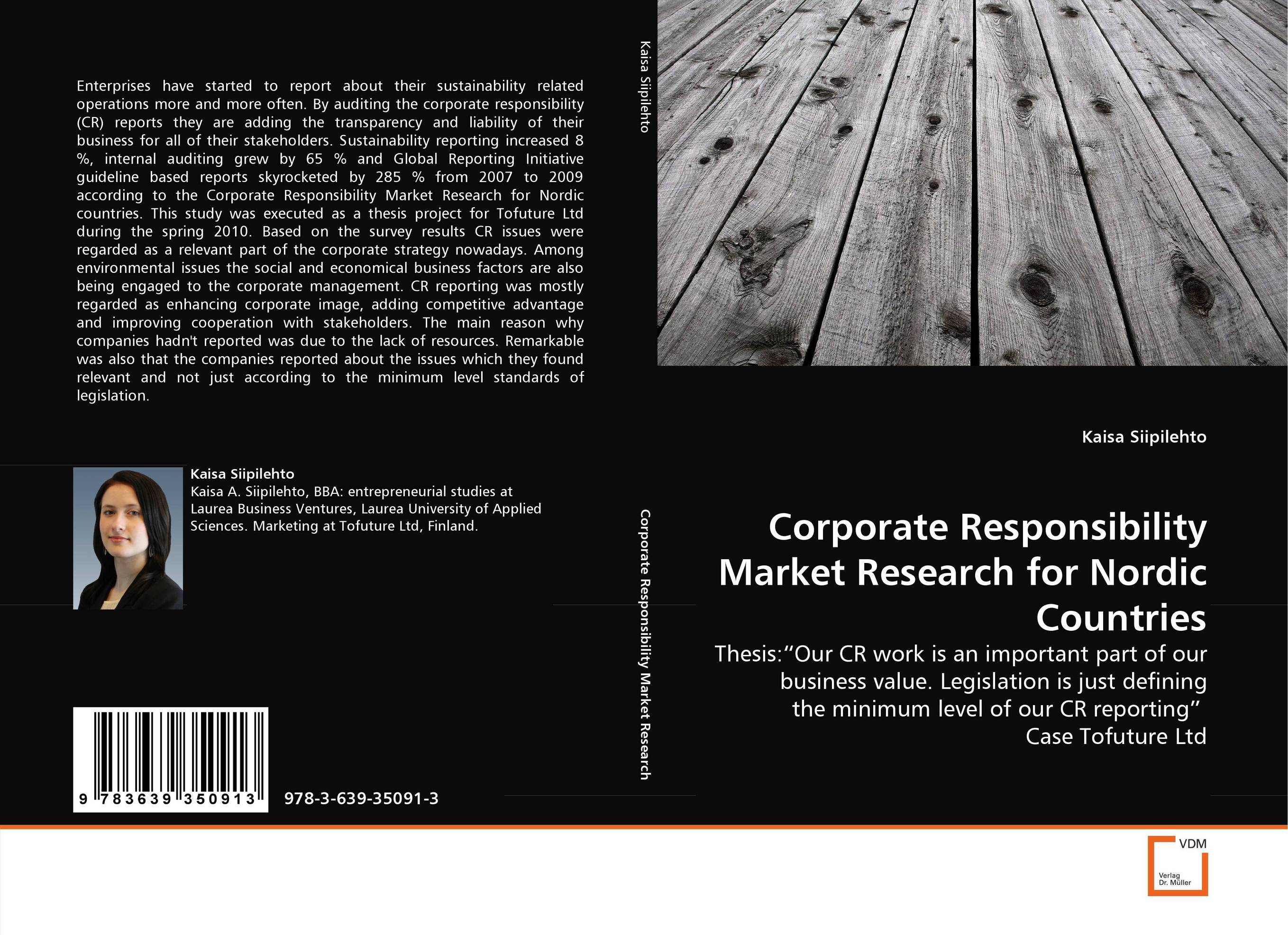Corporate Responsibility Market Research for Nordic Countries