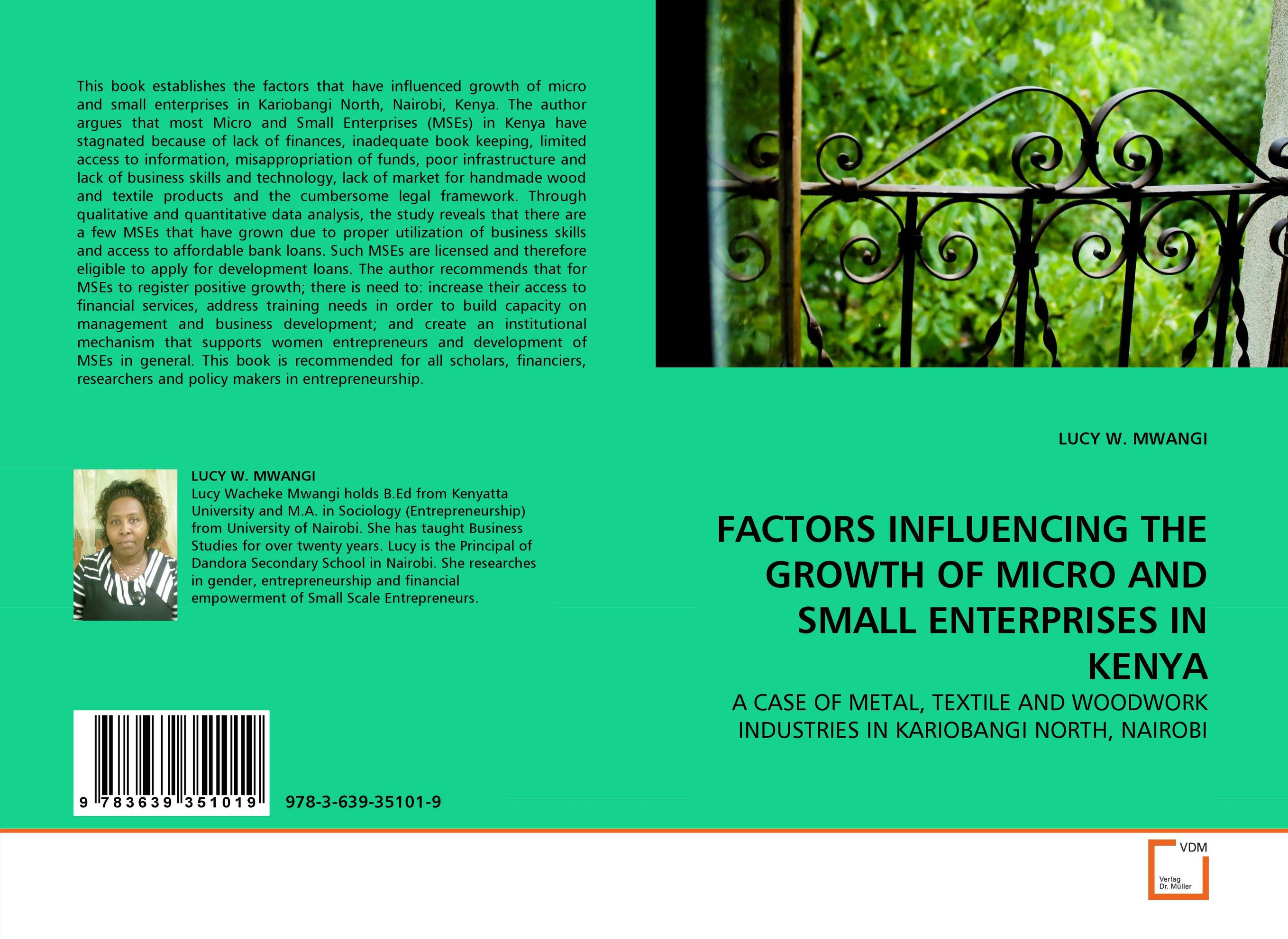 FACTORS INFLUENCING THE GROWTH OF MICRO AND SMALL ENTERPRISES IN KENYA