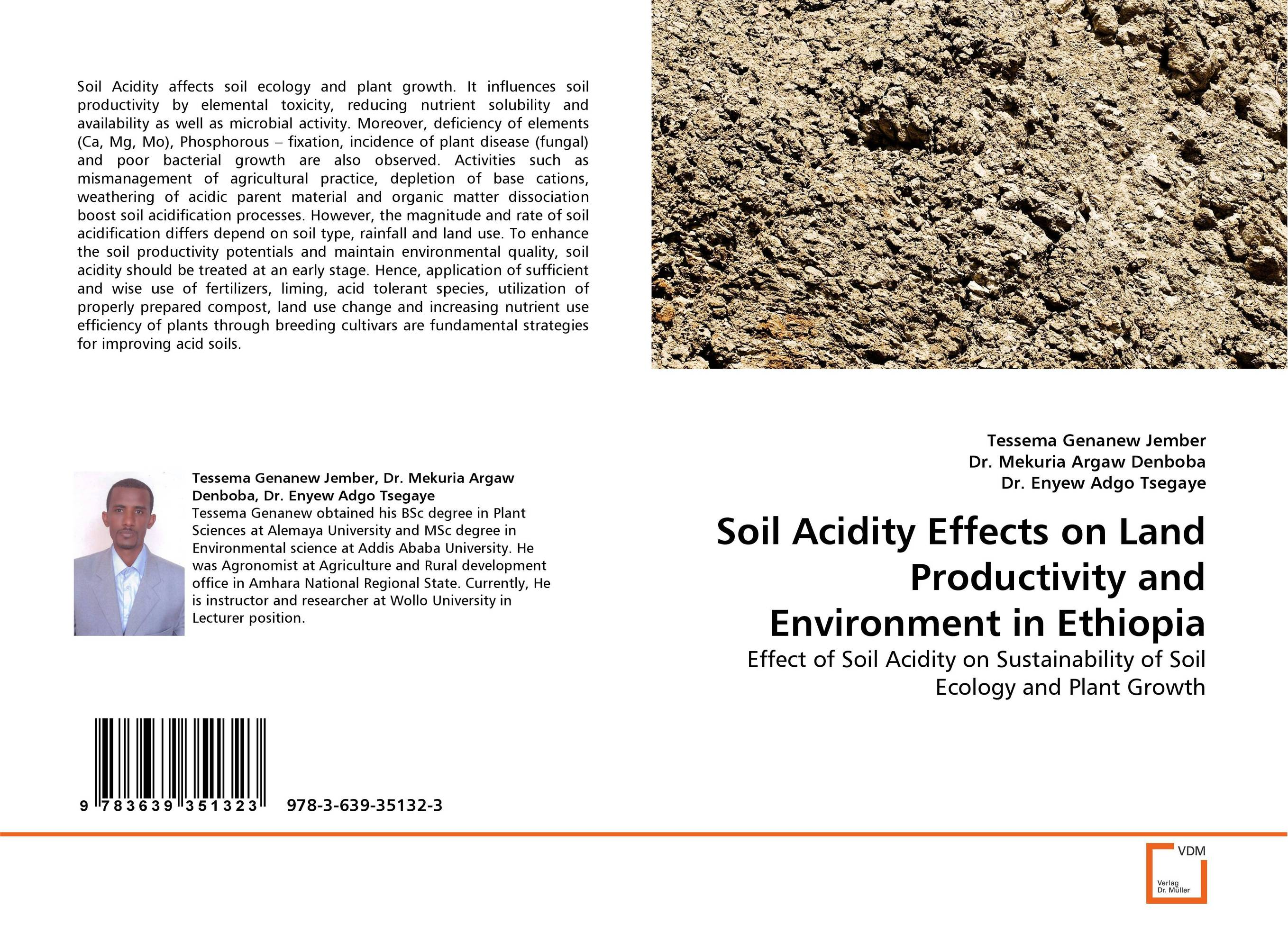 Soil Acidity Effects on Land Productivity and Environment in Ethiopia