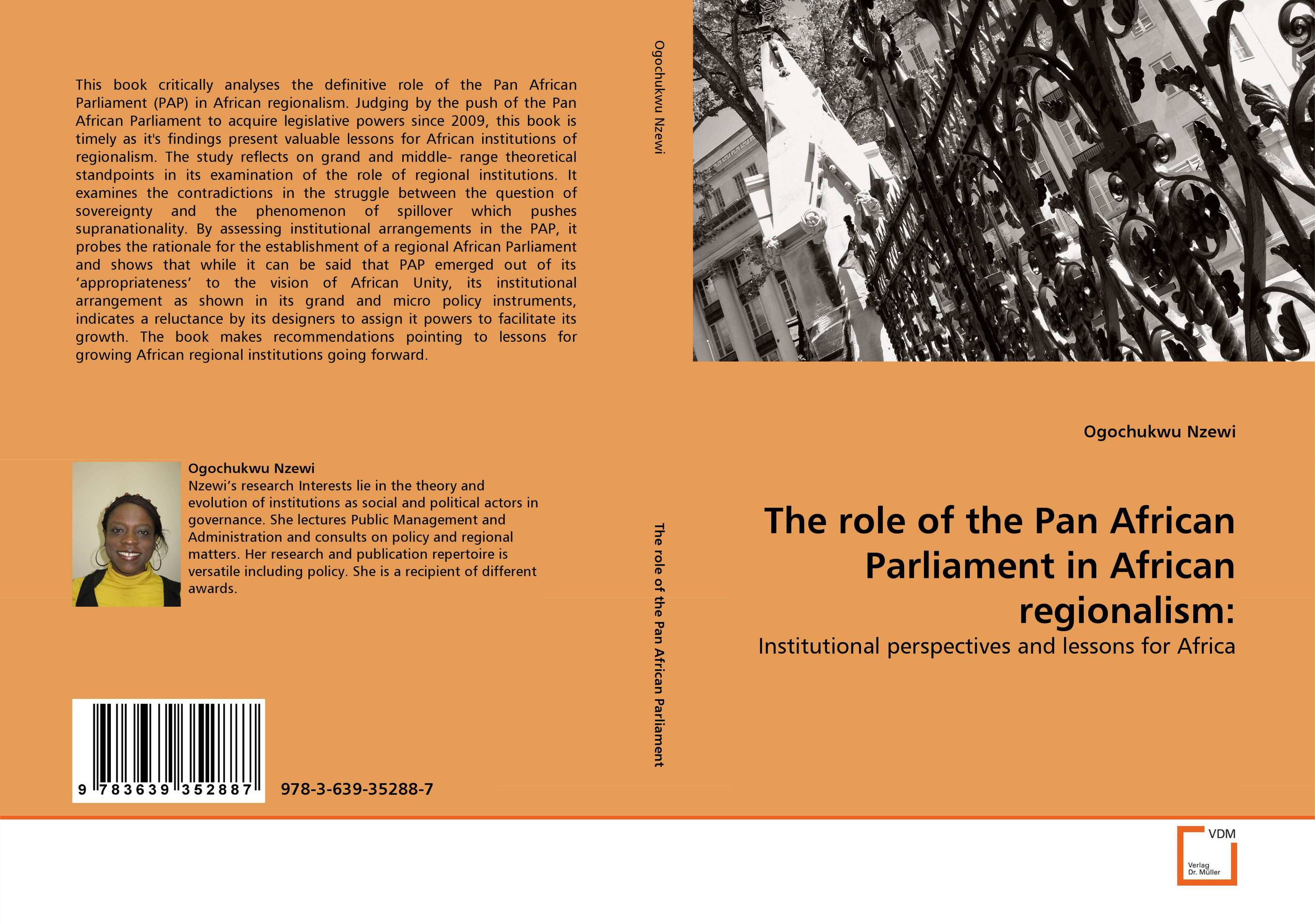 The role of the Pan African Parliament in African regionalism: judging the judges judging ourselves