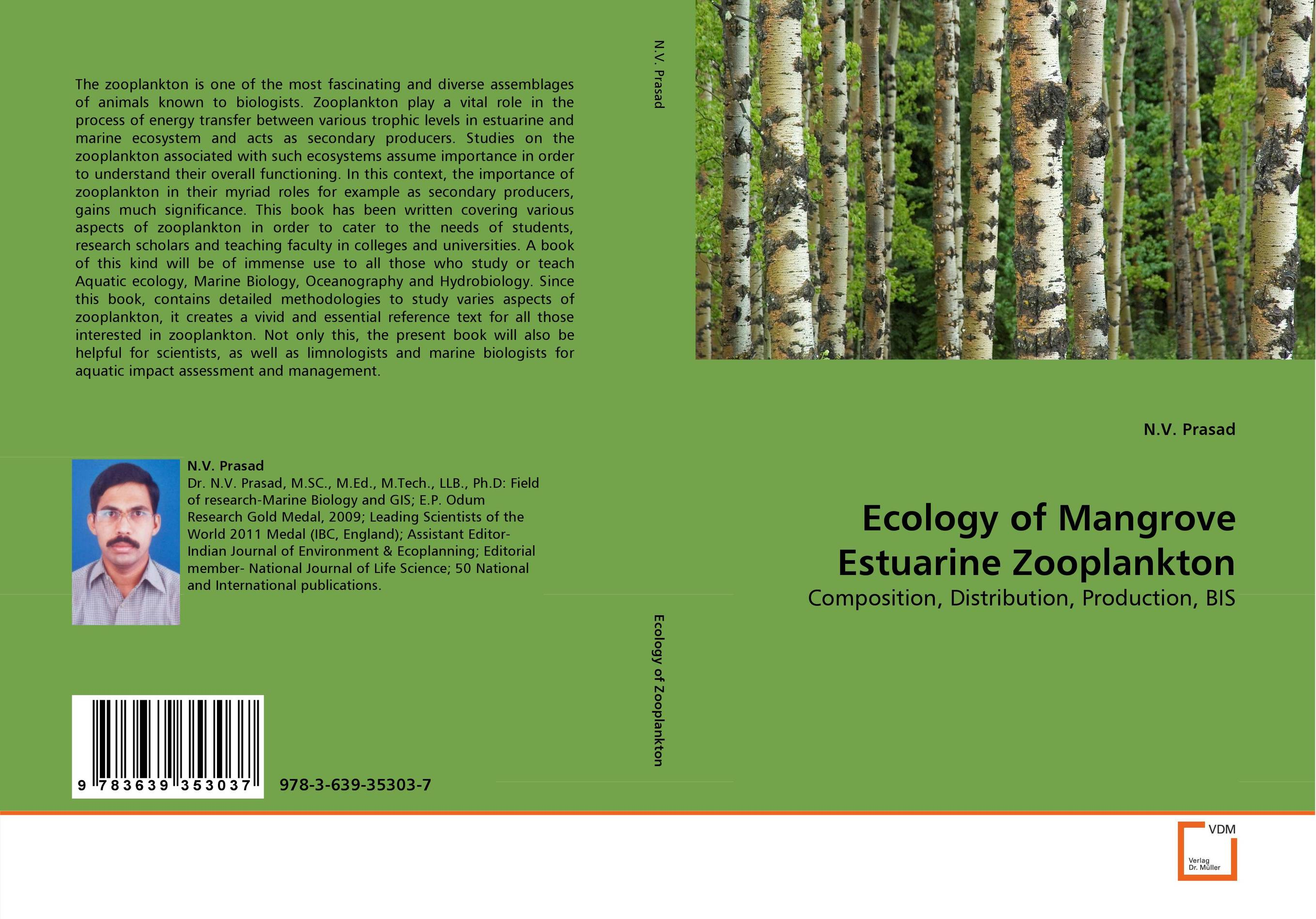 Ecology of Mangrove Estuarine Zooplankton nify benny and c h sujatha enrichment of sulphur compounds in the cochin estuarine system