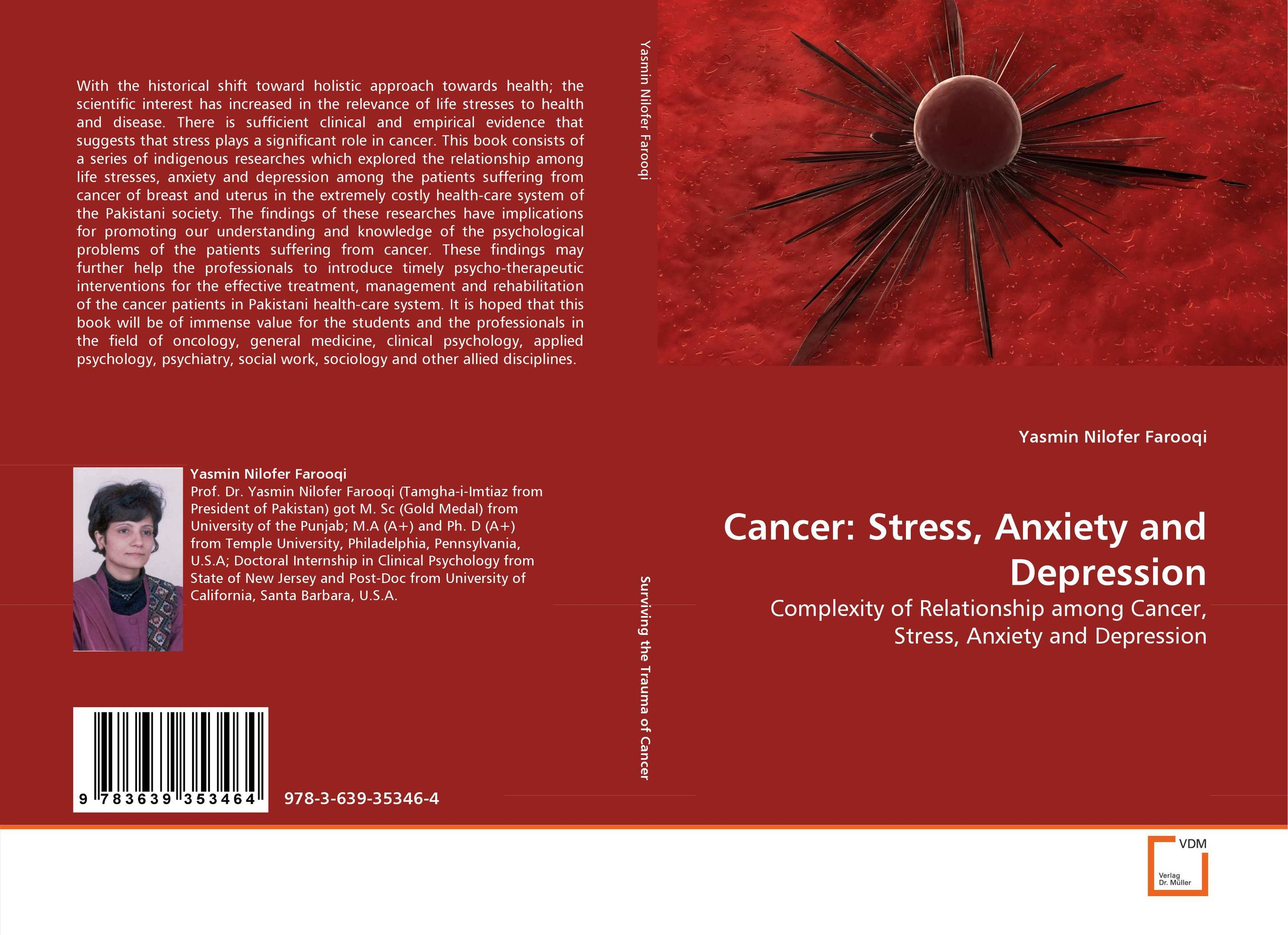 Cancer: Stress, Anxiety and Depression retinopathy among undiagnosed patients of pakistan