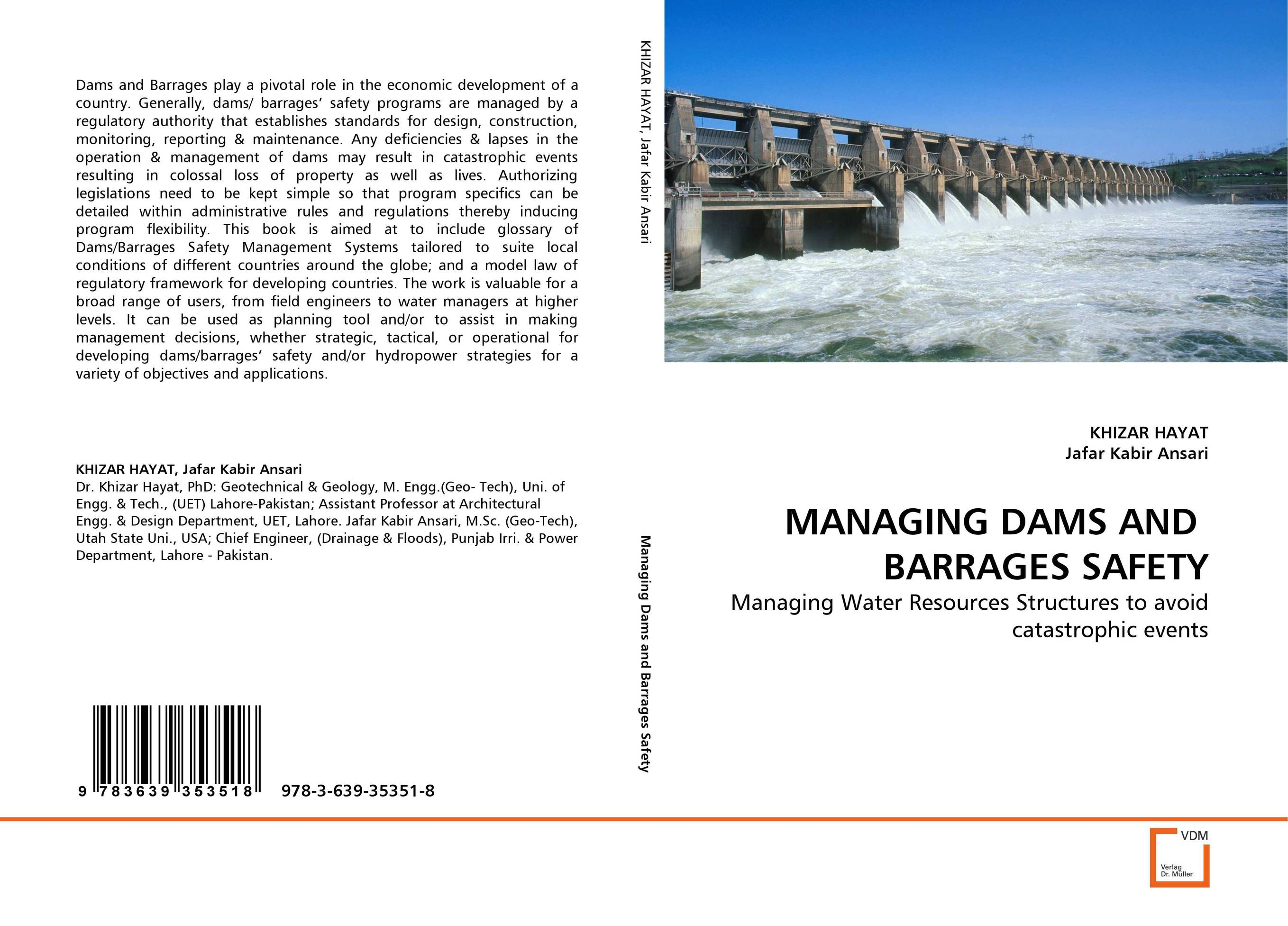 MANAGING DAMS AND BARRAGES SAFETY a decision support tool for library book inventory management